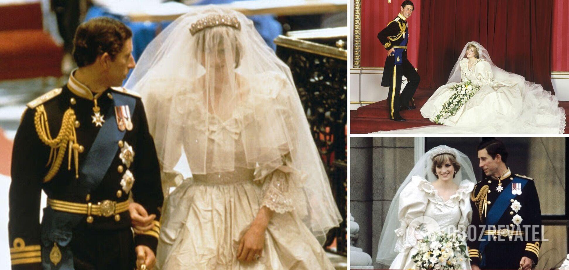 Принцеса Діана і Чарльз одружилися 40 років тому: найдивніші факти про весілля королівської пари