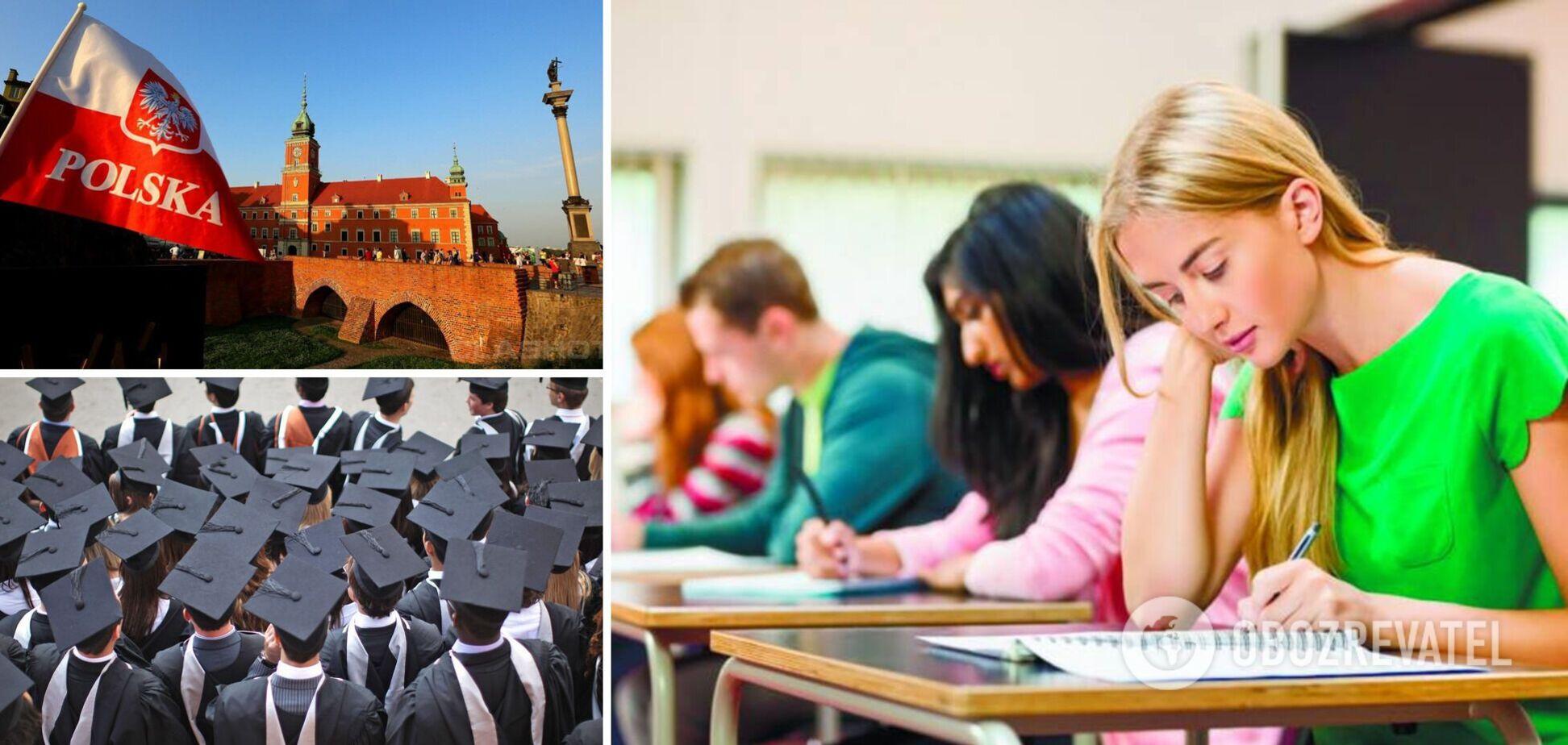 Украинцы массово уезжают учиться в Польшу