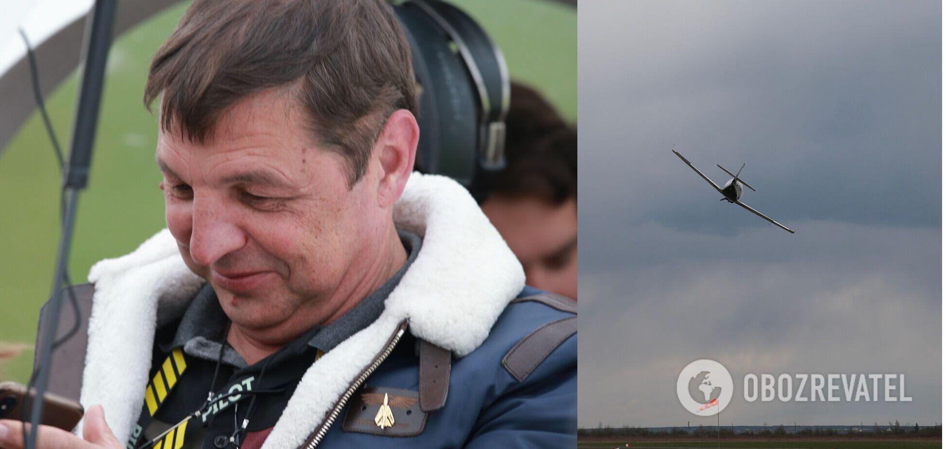 На Прикарпатті легкомоторний літак впав на будинок, в катастрофі загинув легендарний льотчик. Фото та відео