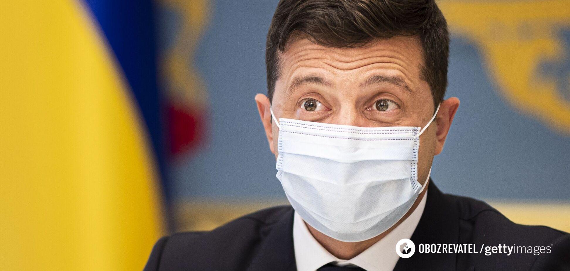 Зеленський анонсував прискорення темпів вакцинації в Україні та назвав головну проблему