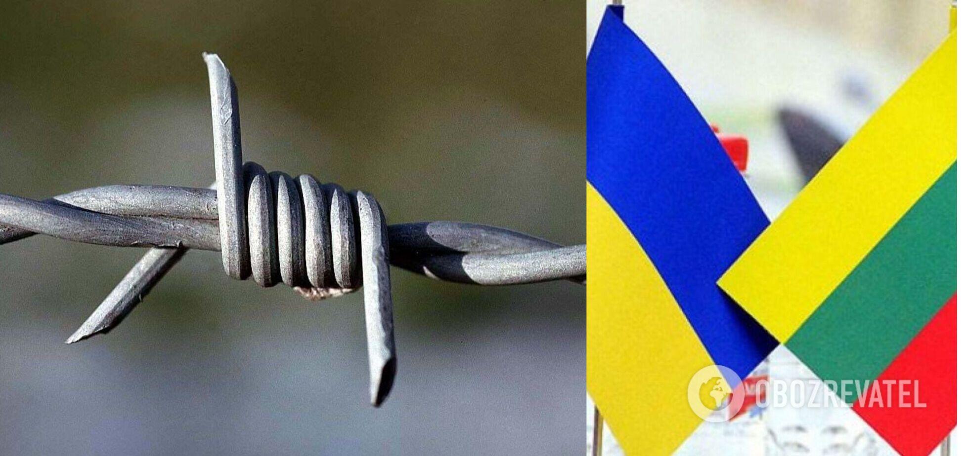 Україна передала Литві колючий дріт