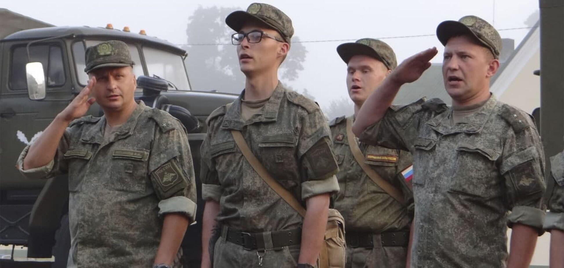 Российские военные приехали в Беларусь