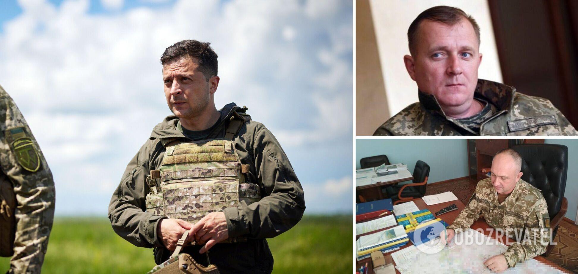 Зеленський змінив главу Генштабу ЗСУ та командувача ООС: що відомо про призначених генералів. Фото