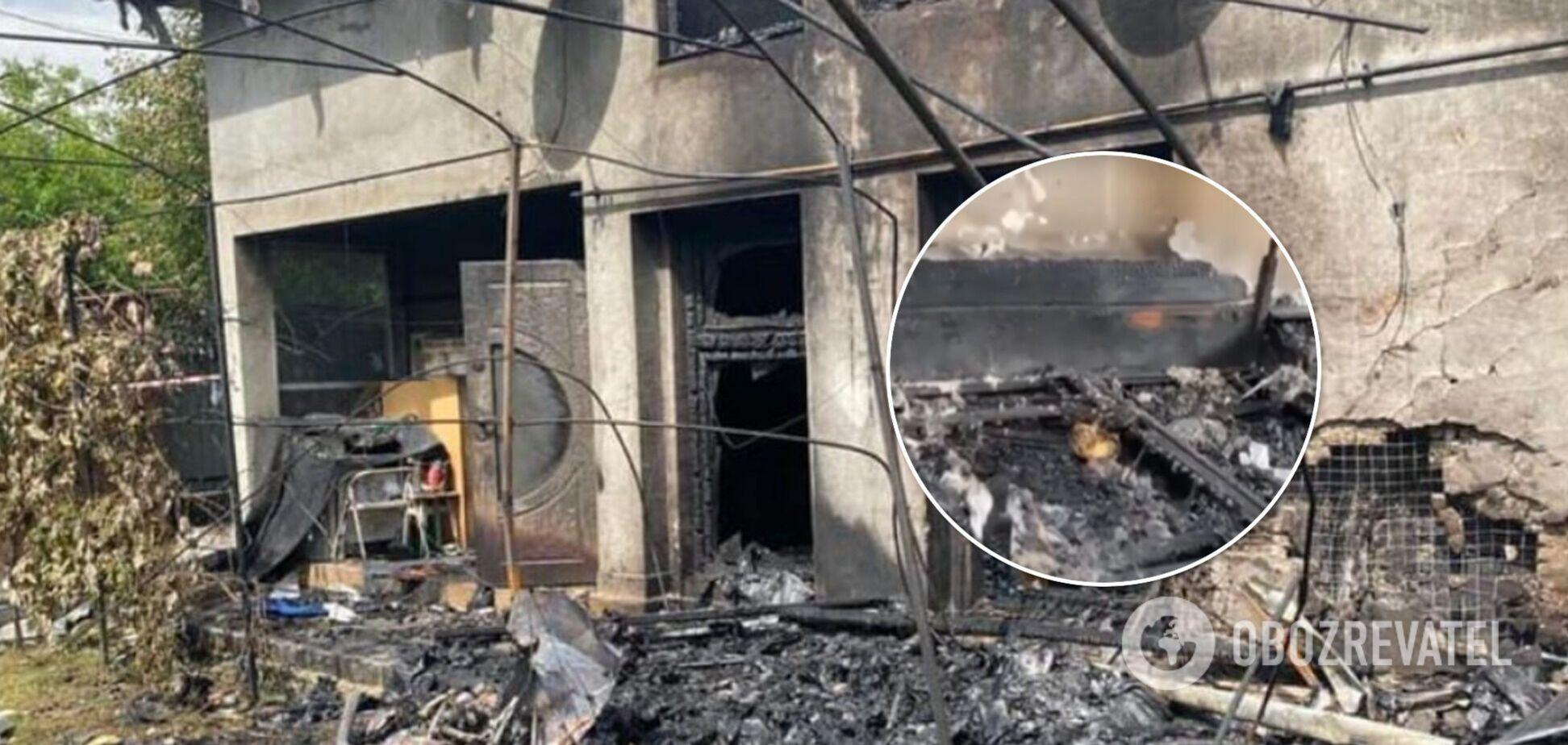Авіакатастрофа біля Коломиї: три сім'ї зі зруйнованого будинку залишилися без даху над головою. Фото і відео