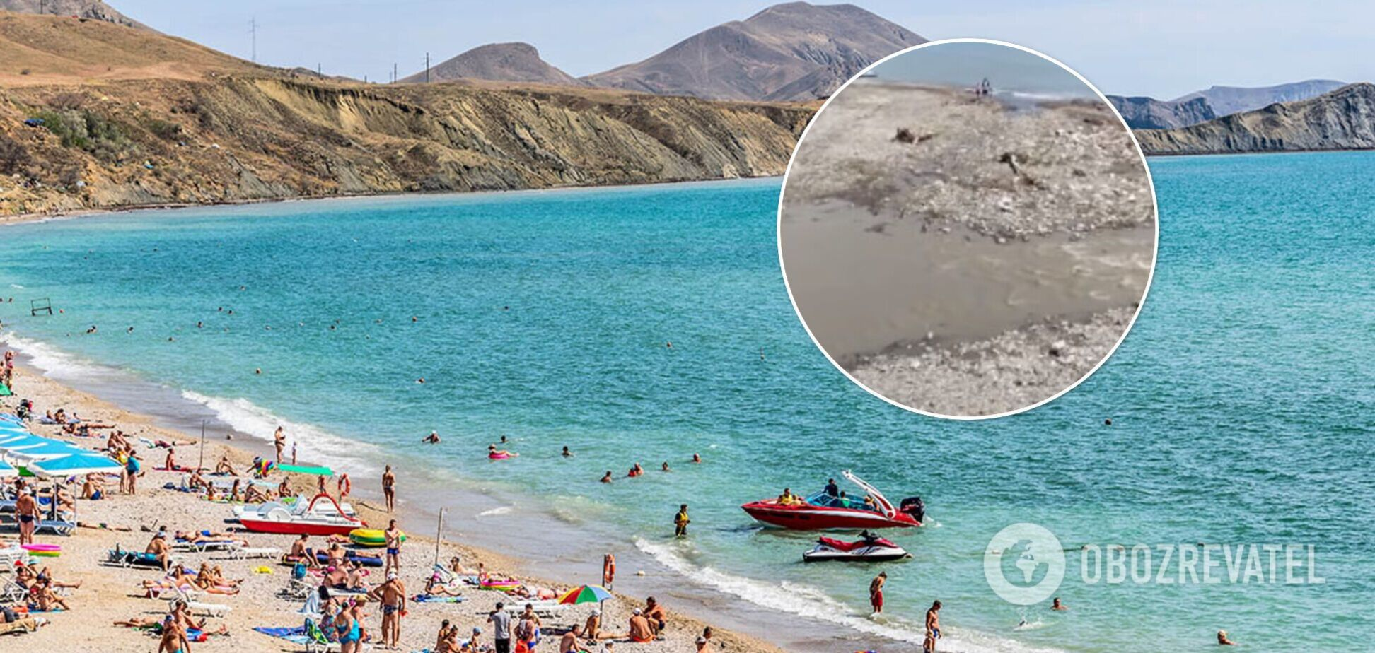 Полуостров утонул в безразличии: печальные реалии отдыха в Крыму показали на видео