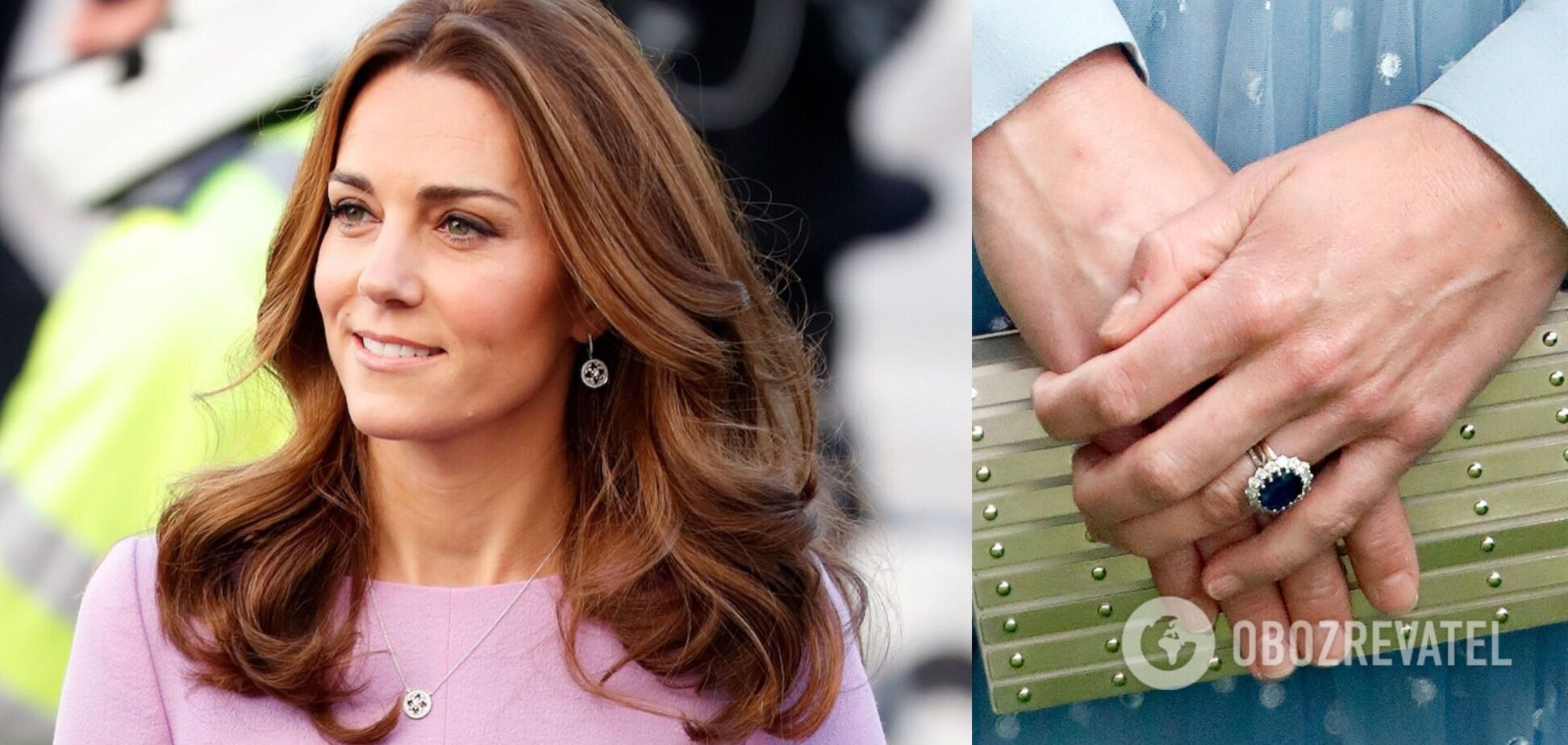 Кейт Міддлтон змінила каблучку принцеси Діани, яку їй подарував принц Вільям