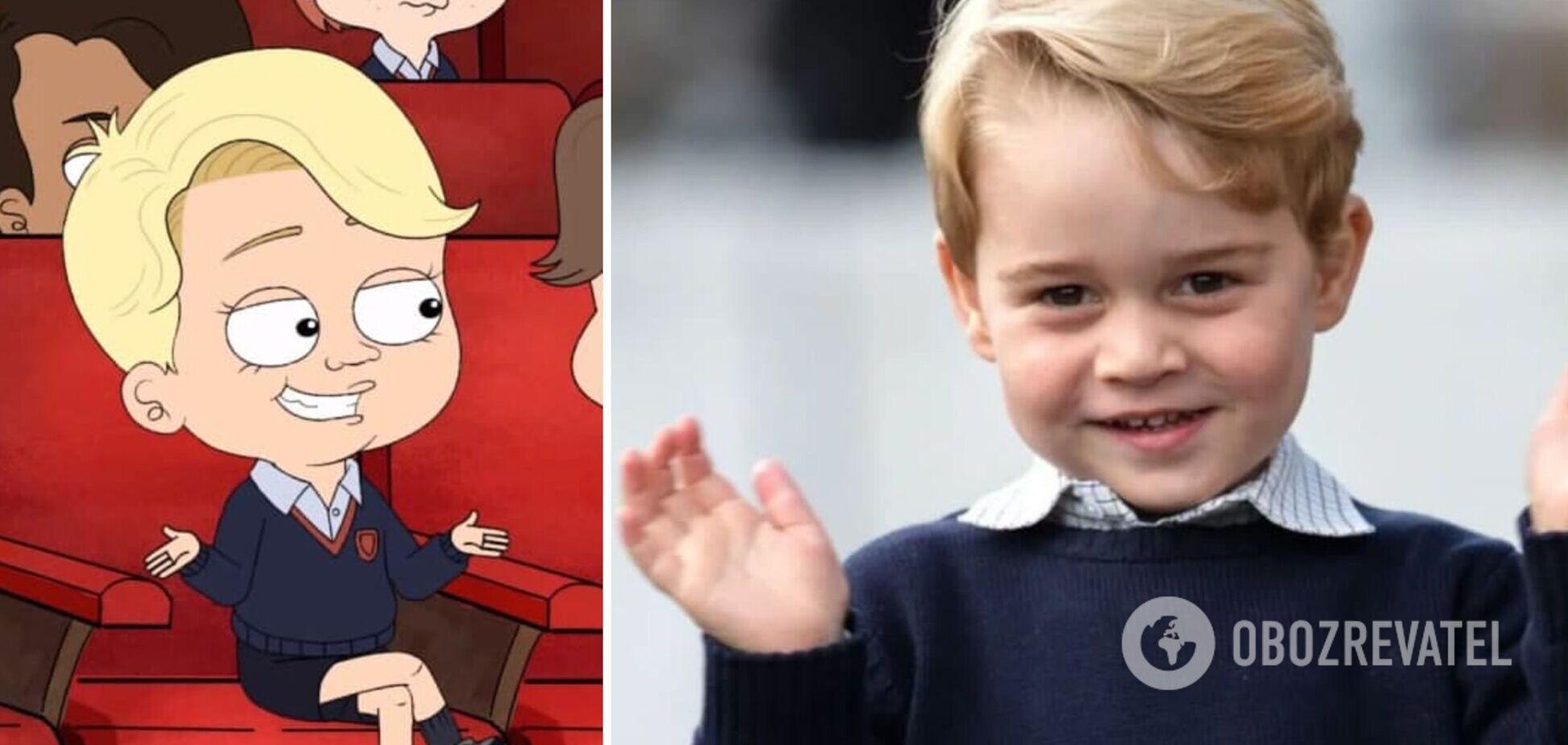 HBO выпустит сериал-пародию о принце Джордже и королевской семье. Трейлер
