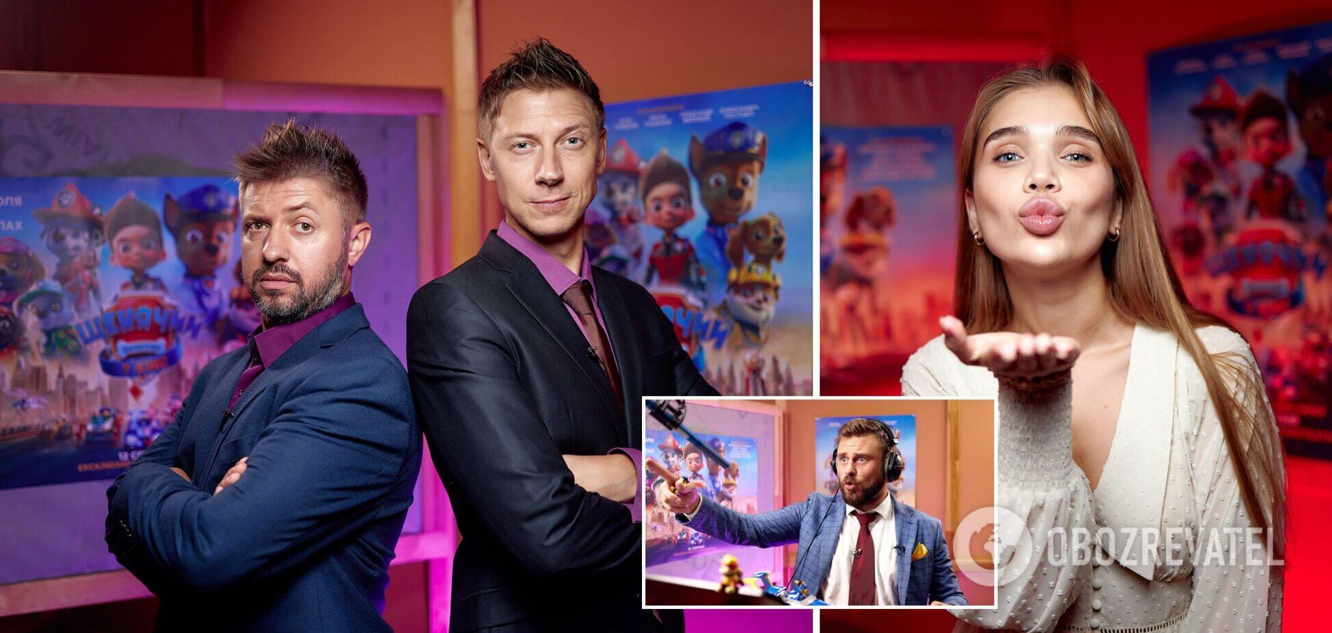 Українські зірки озвучили героїв культової анімаційної пригоди 'Щенячий патруль у кіно'