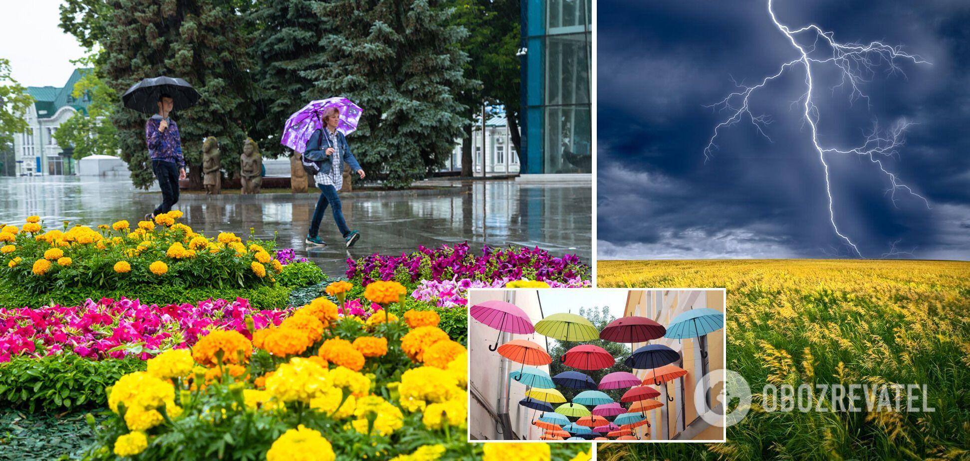 Жара в Украине спадет, вернется период дождей