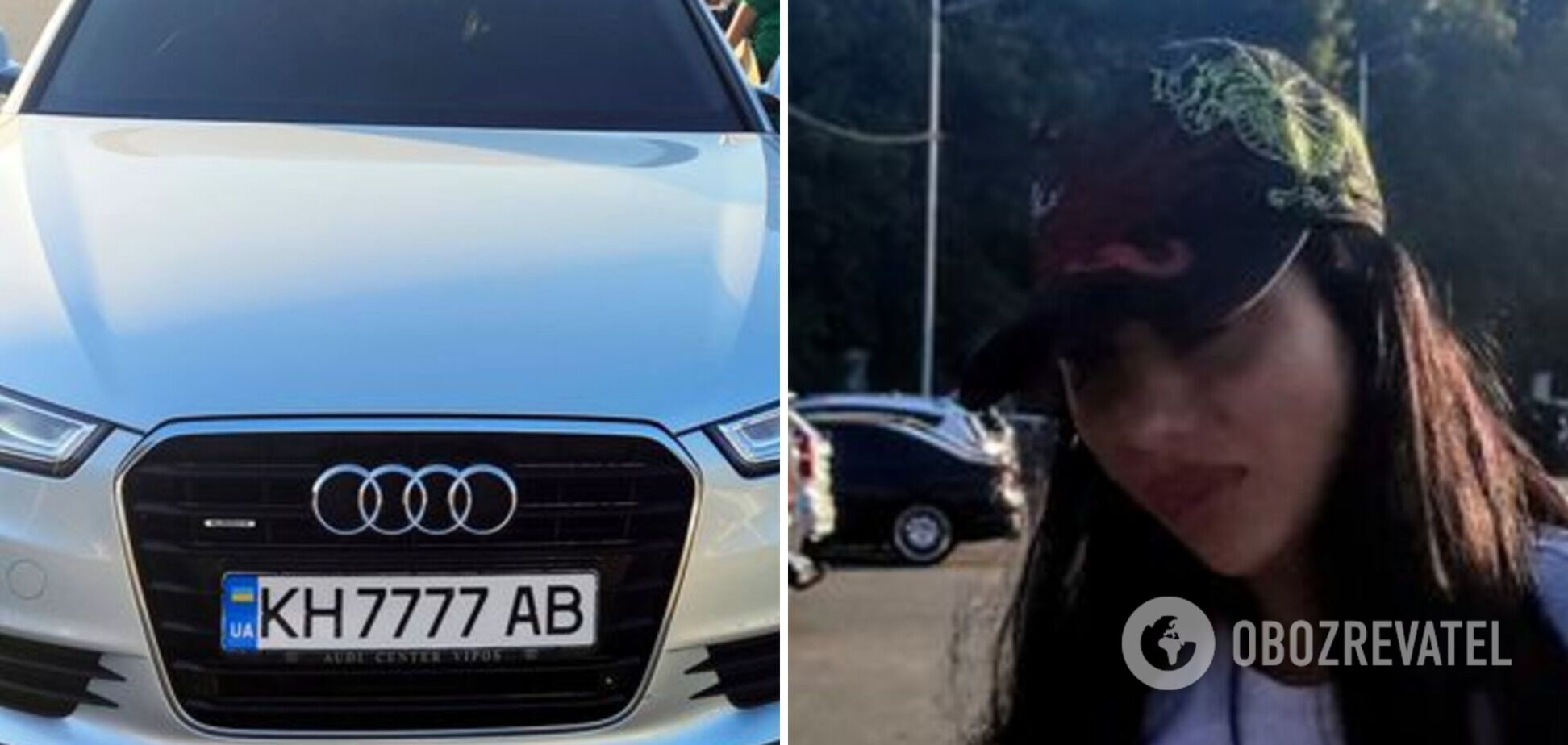 Нарушила, потому что спешила: в Киеве девушка за рулем чуть не убила семью известной блогерши. Фото