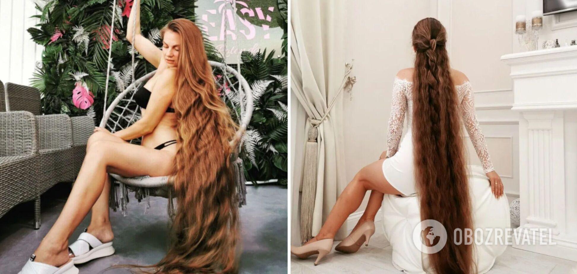 'Москвич хотел купить мои волосы за $5 тыс. долларов': как живет украинка с аномальной шевелюрой. Интервью