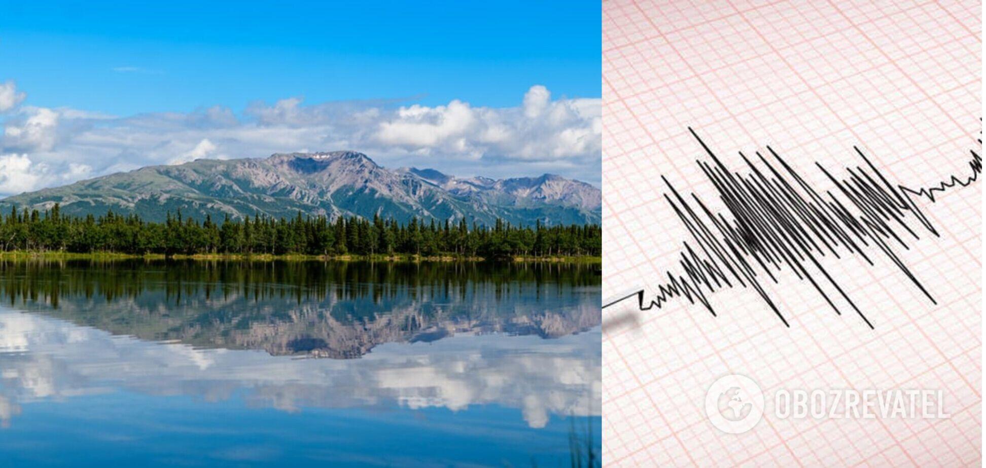 На Аляске произошло мощное землетрясение, есть угроза цунами. Видео