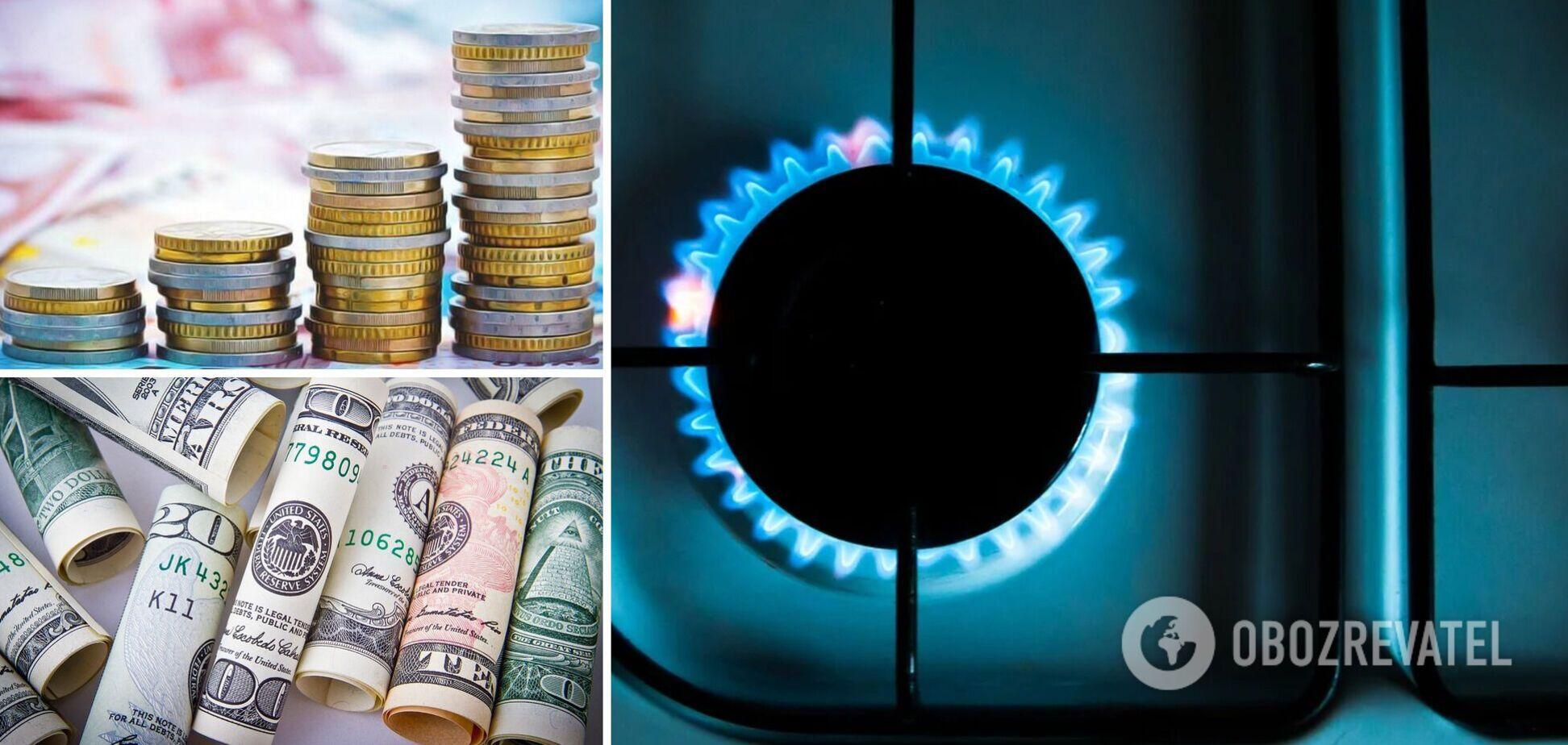 У серпні зміниться вартість газу і курс долара