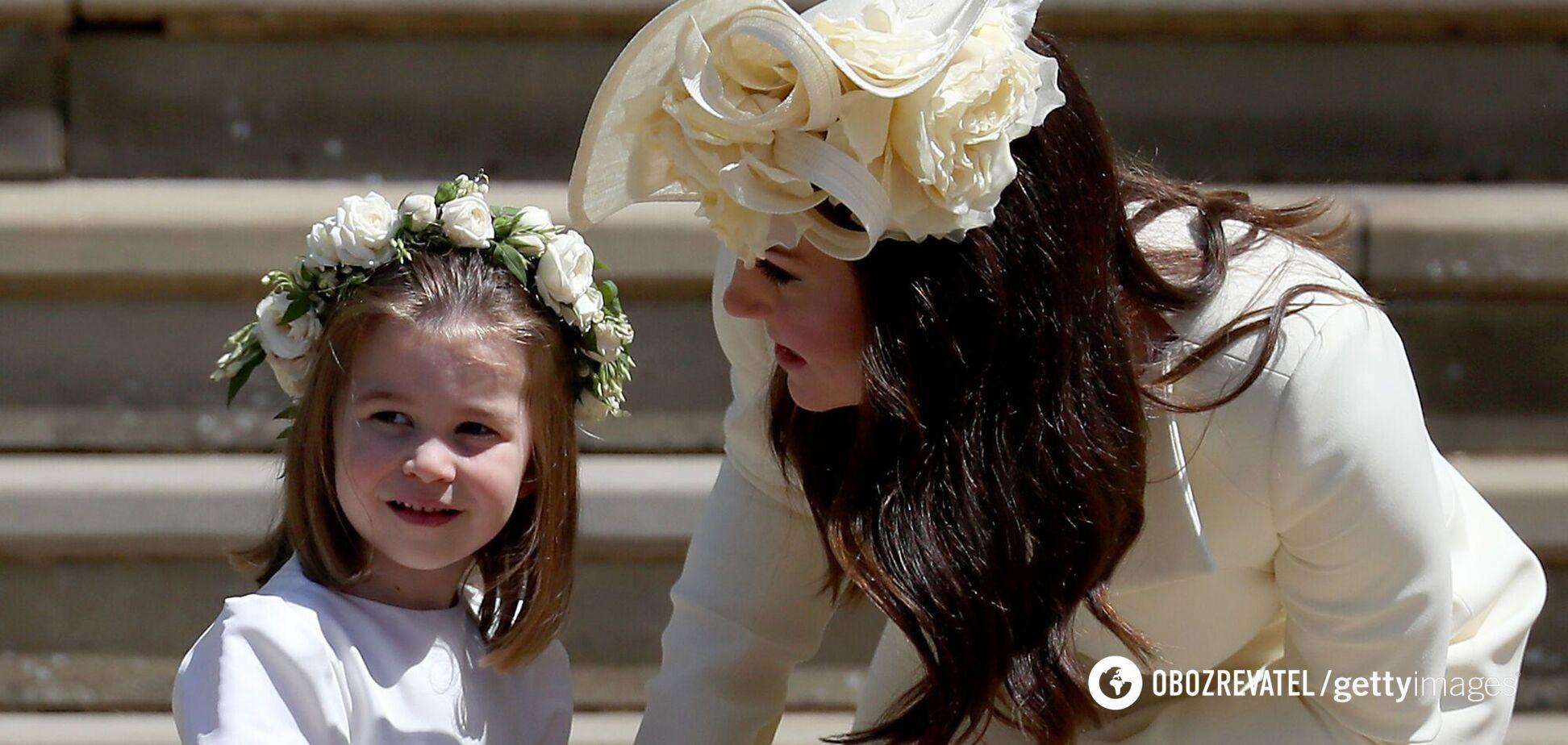 Принцесса Шарлотта с мамой