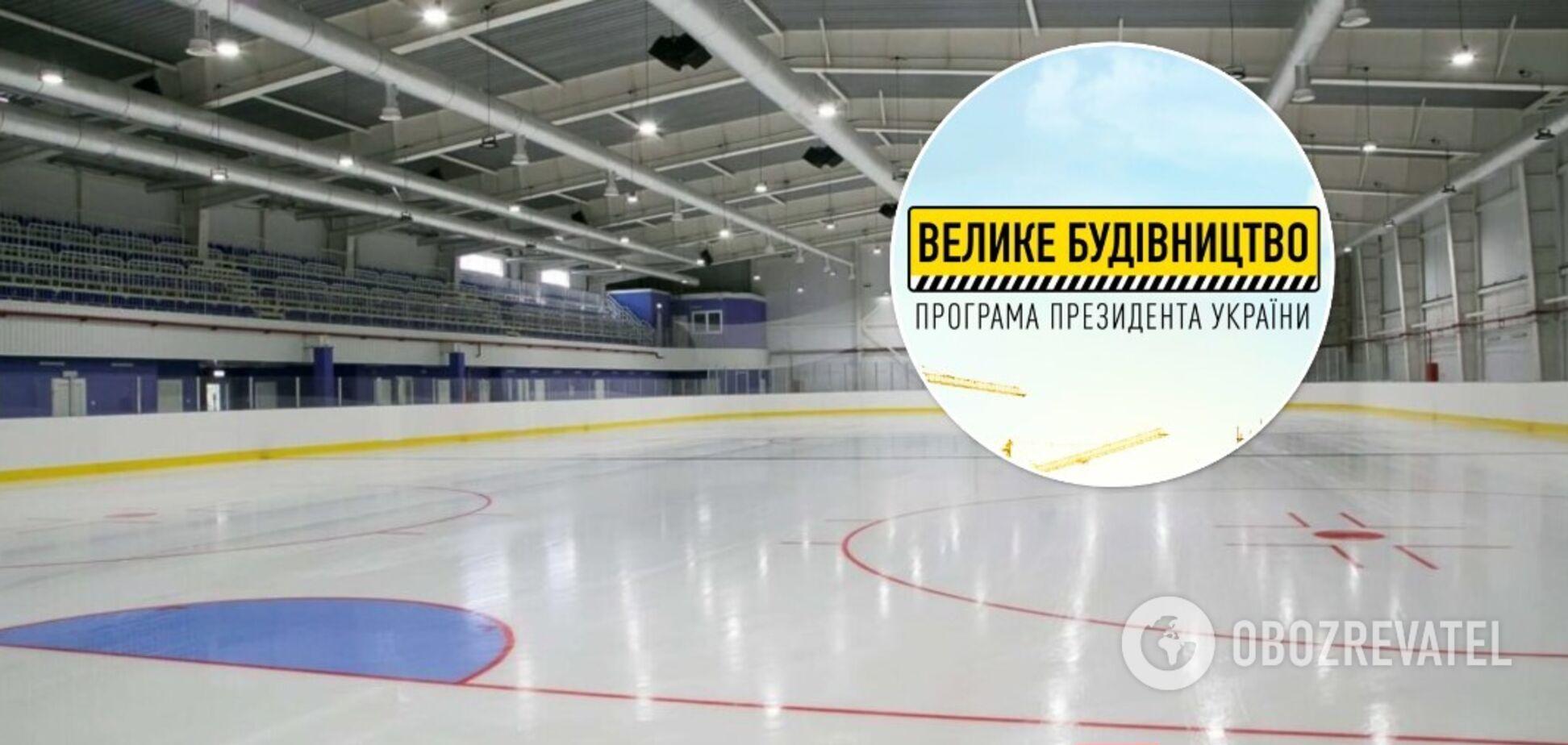 В ближайшие годы в Украине будет построено 19 новых ледовых комплексов