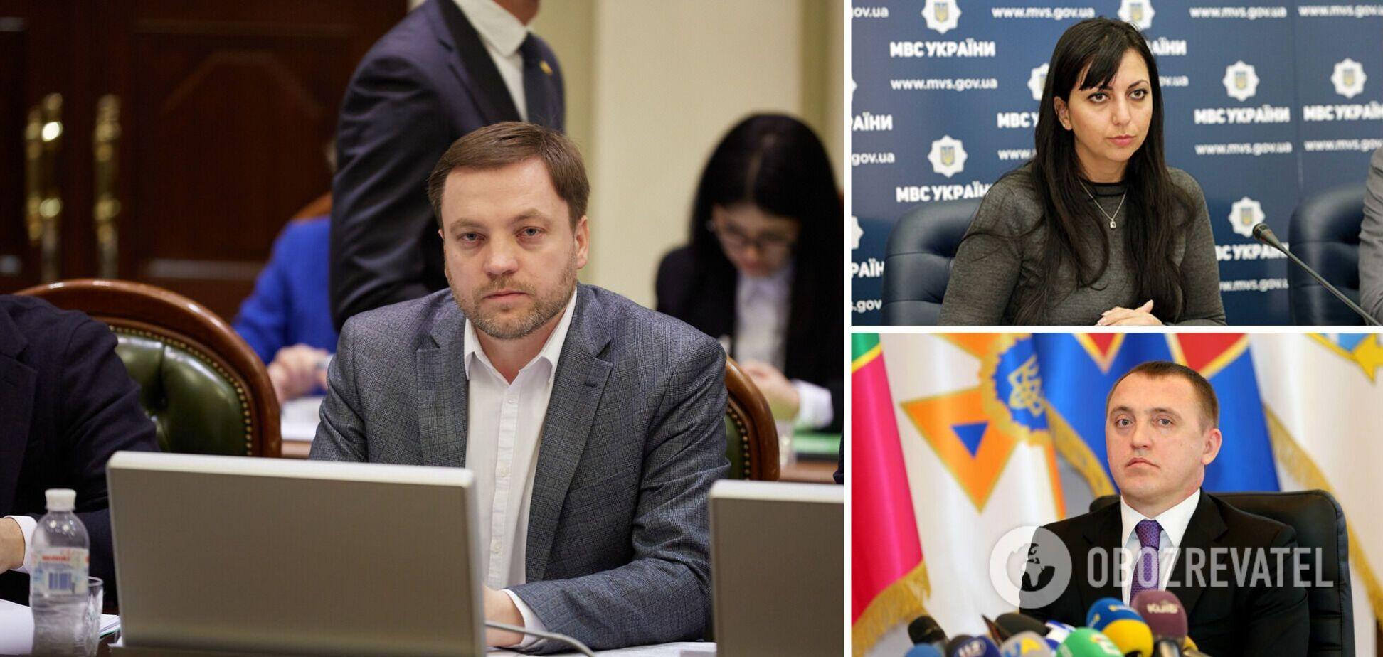 Названо імена ймовірних заступників глави МВС Монастирського. Фото