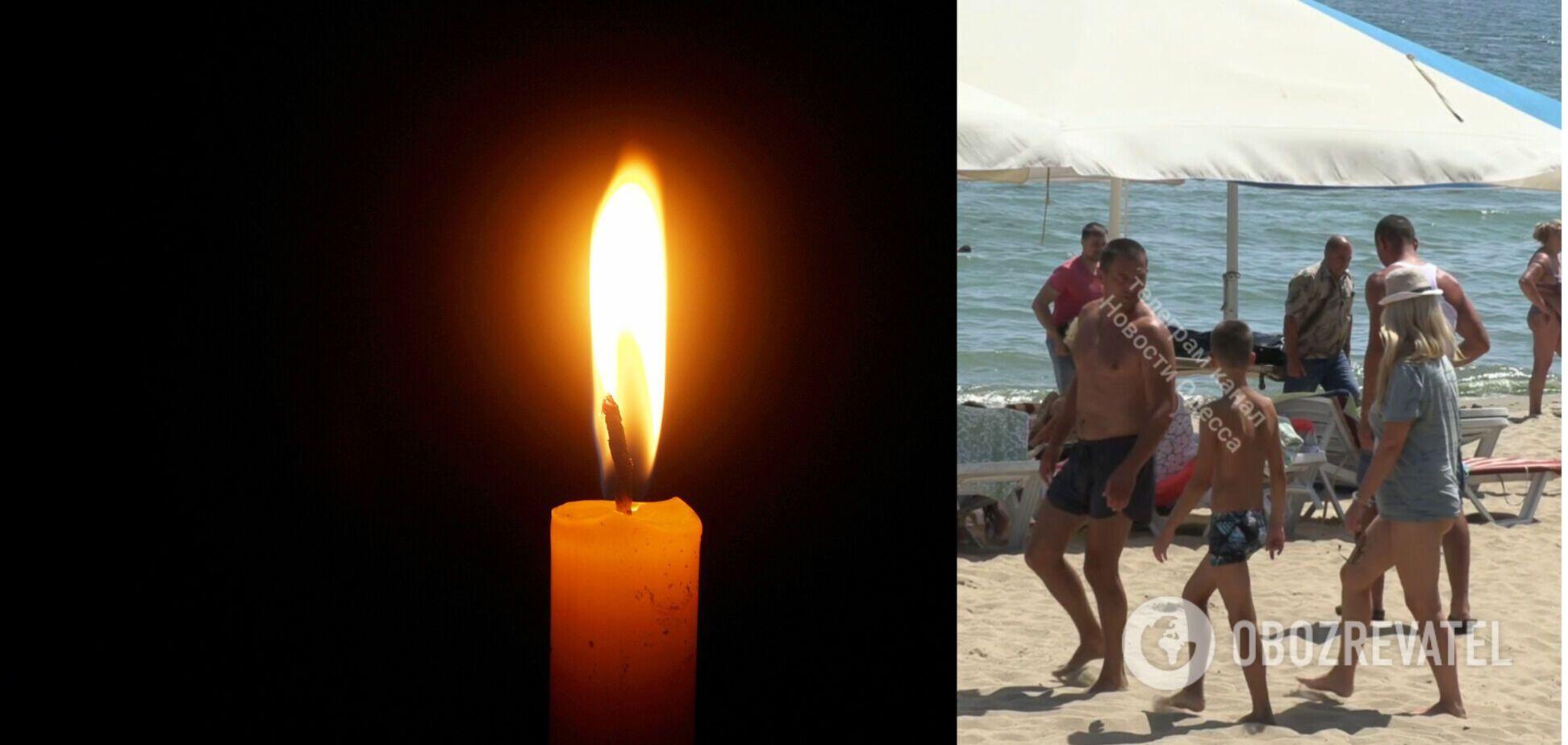 На пляжі в Чорноморську сталася трагедія