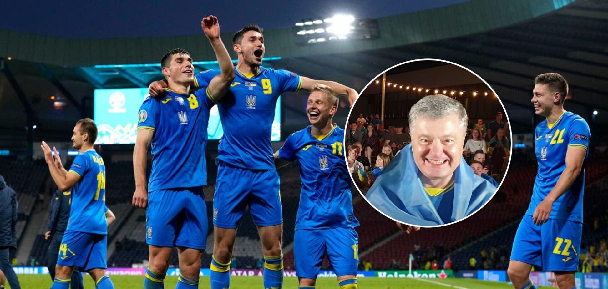 Порошенко – про матч Україна-Англія на Євро-2020: вірю в перемогу
