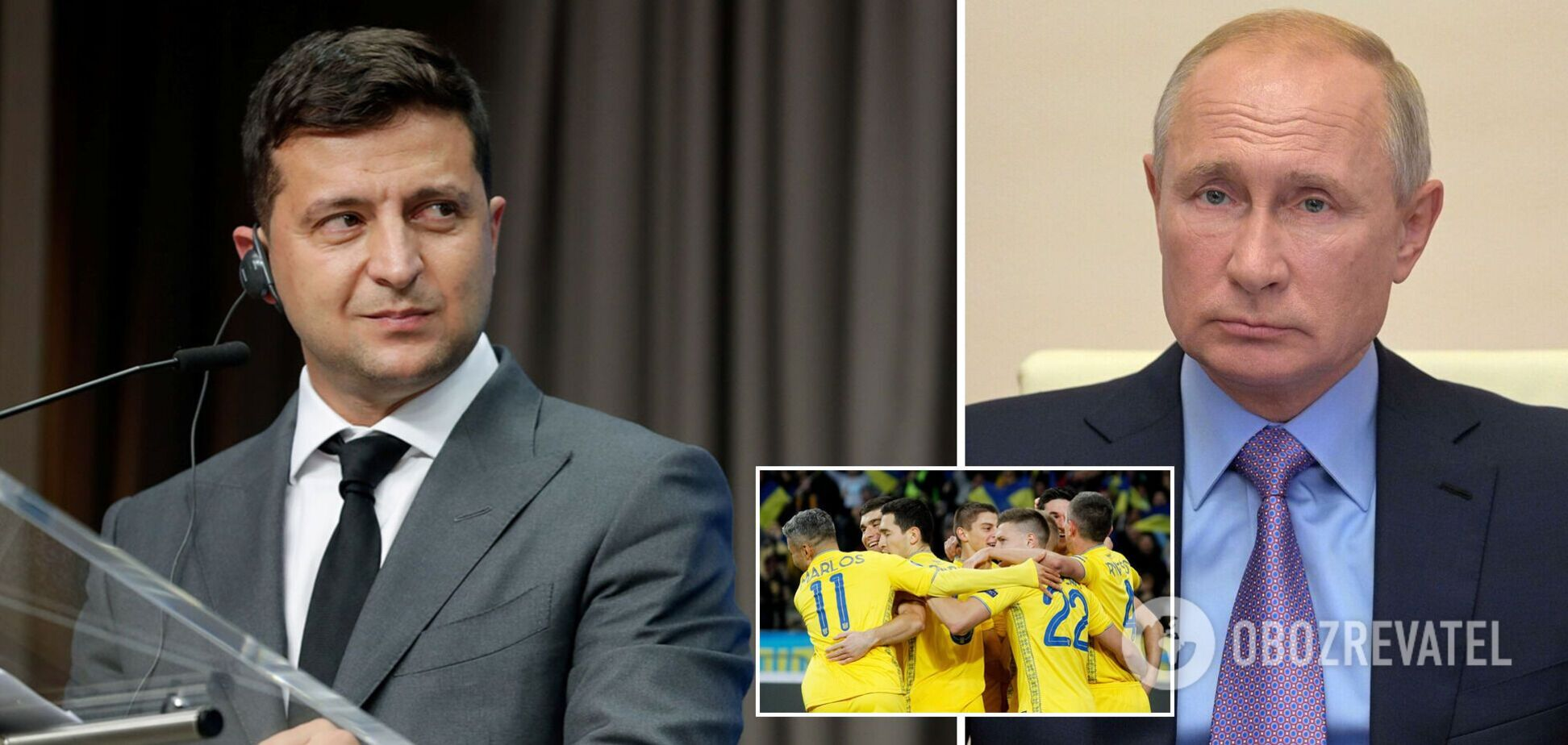 Новости Украины: Зеленский поддержал сборную перед матчем с Англией, а Путин выдал обвинения Киеву