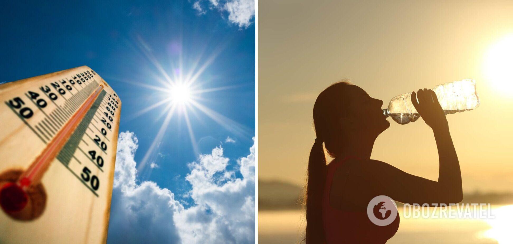 Київ накриє рекордна спека: прогноз синоптиків до кінця тижня