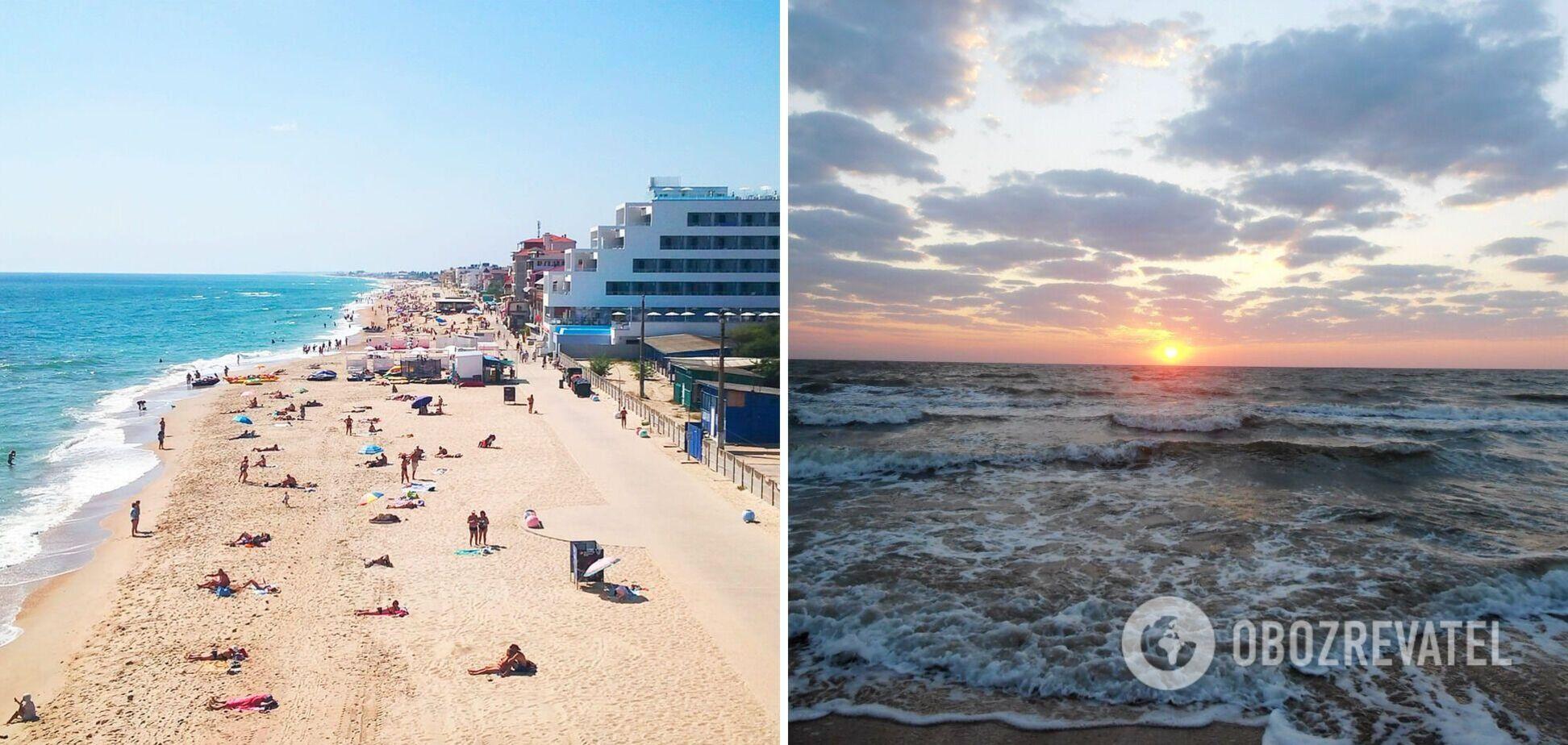 Медузы не дают покоя, а море холодное: туристы рассказали об отдыхе в Геническе и Затоке. Видео