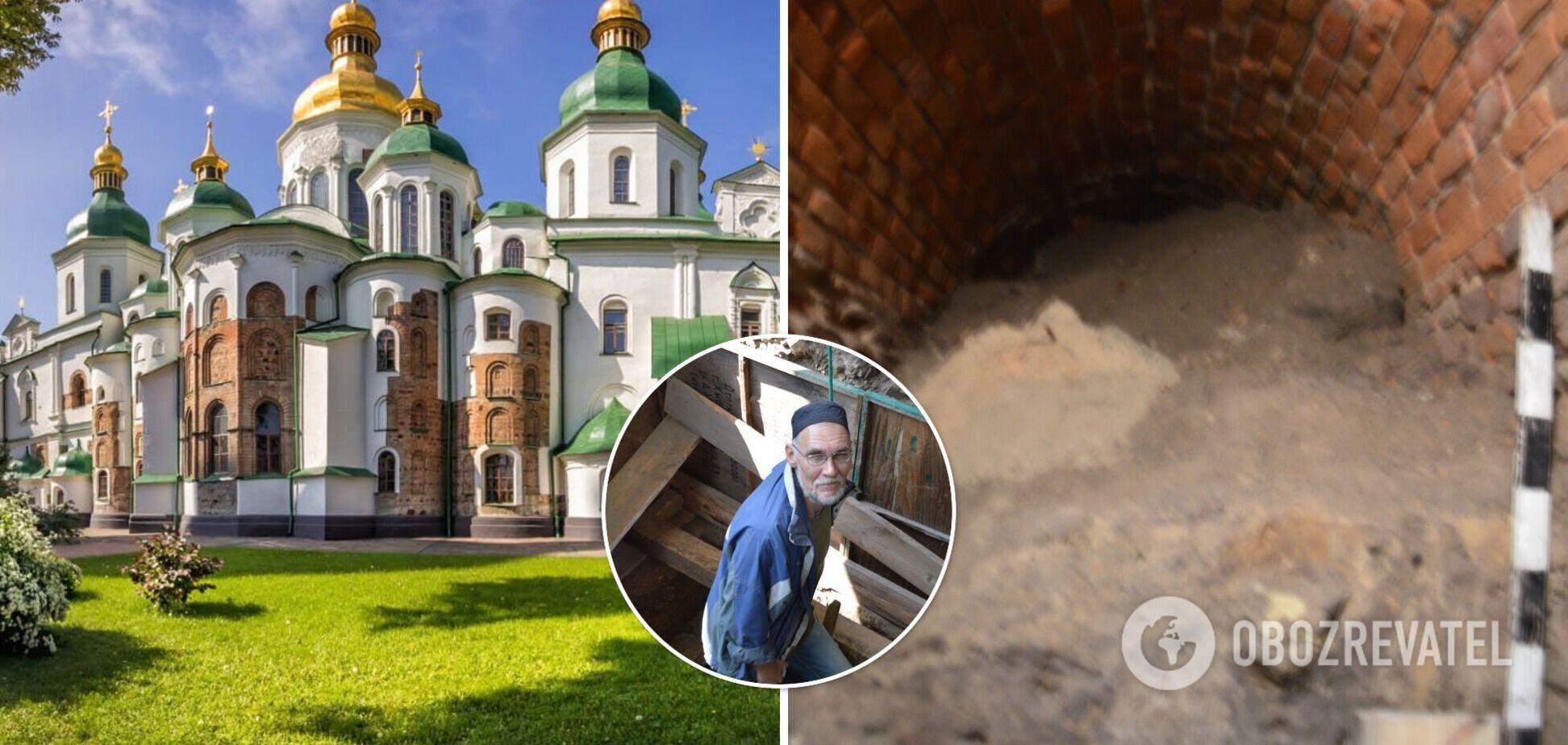 У Києві на території Софійського собору вчені відкрили підземні лабіринти: для кого їх будували. Фото, відео