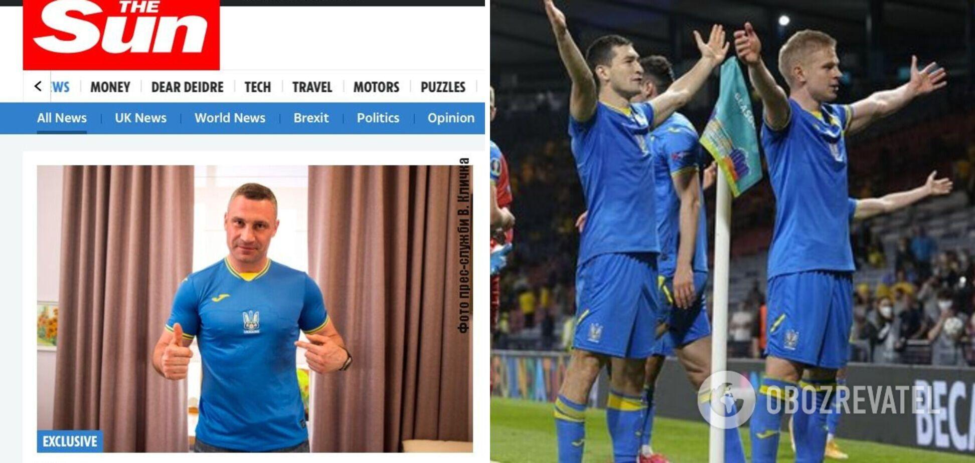 Кличко розповів відомим британським виданням The Telegraph та The Sun про очікування від гри Україна – Англія