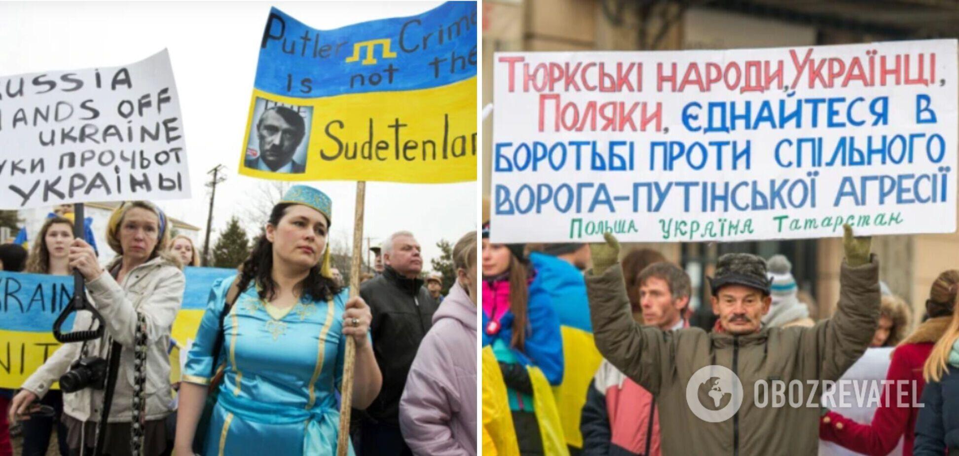 Ставлення до корінних народів в Україні та Росії. Чим обурений Путін?