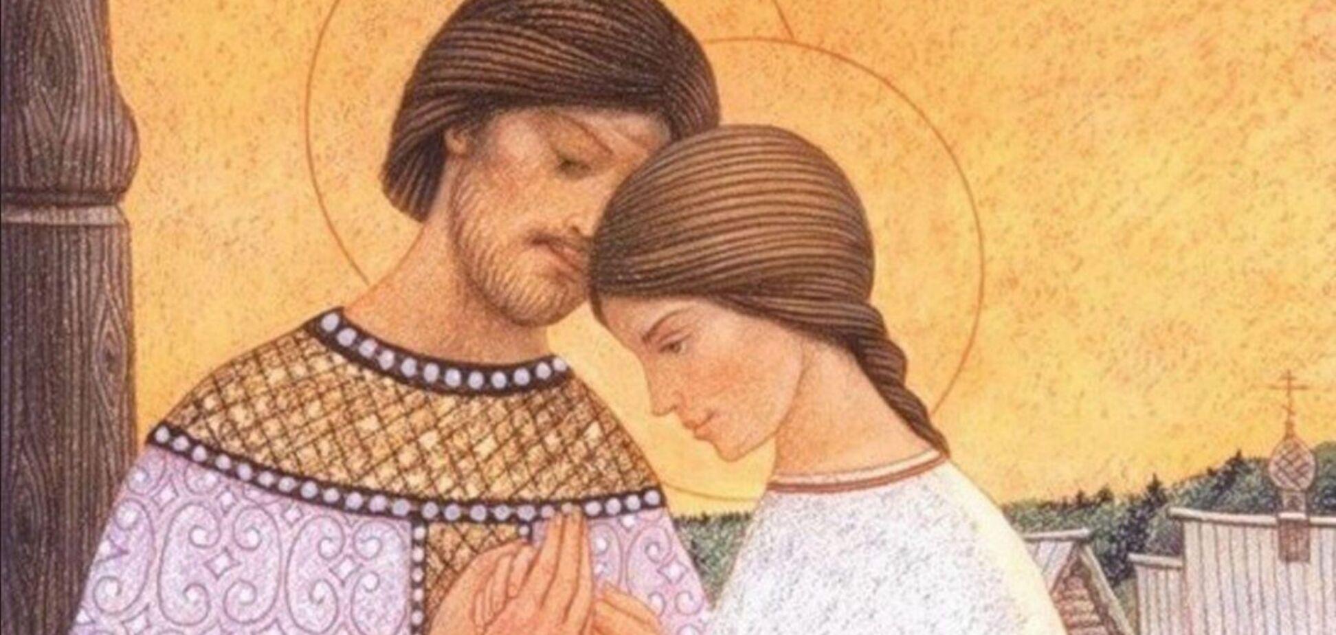 Святые Петр и Феврония считаются покровителями христианского брака