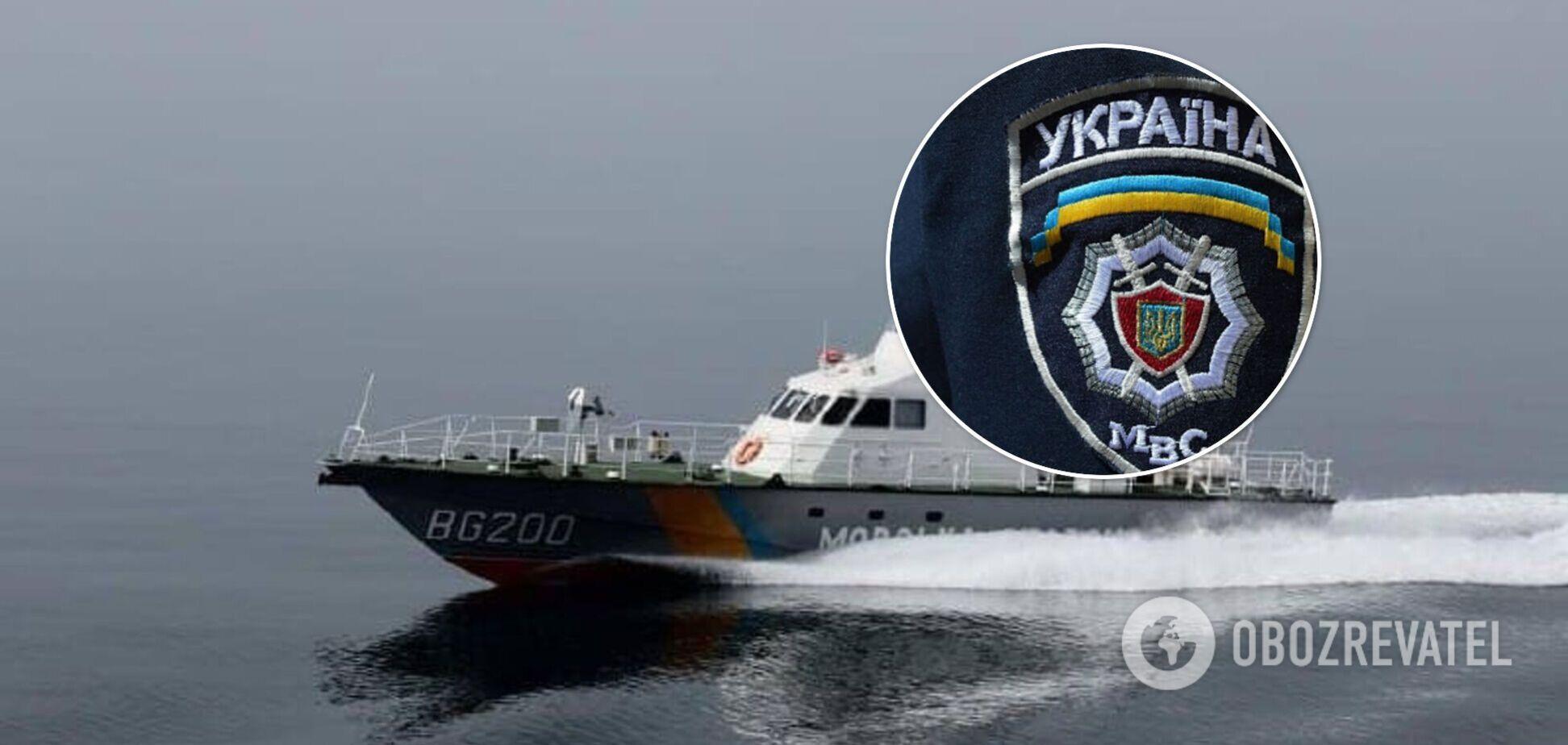 У МВС розповіли, хто насправді врятував рибалок у Чорному морі
