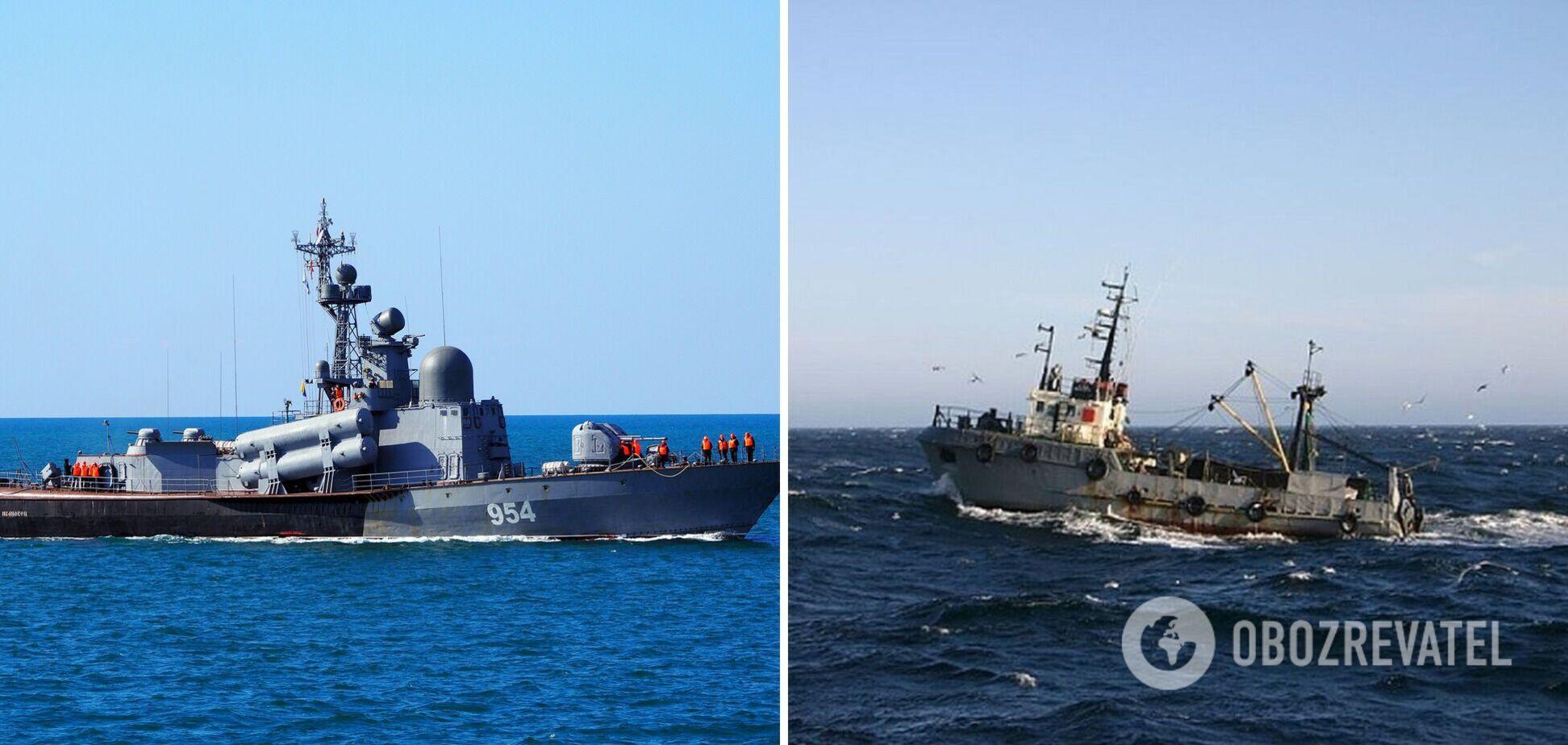 Украинские рыбаки потерпели бедствие в Черном море: корабли РФ игнорировали сигнал SOS. Подробности ЧП