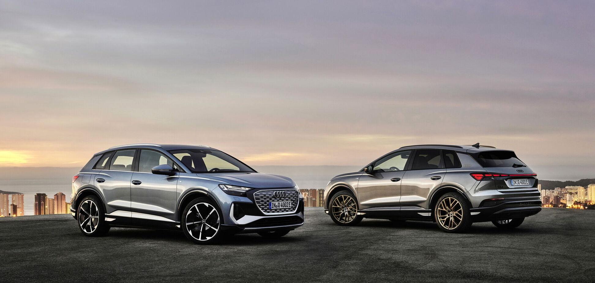 Audi расширяет семейство электрокроссов Q4 e-tron