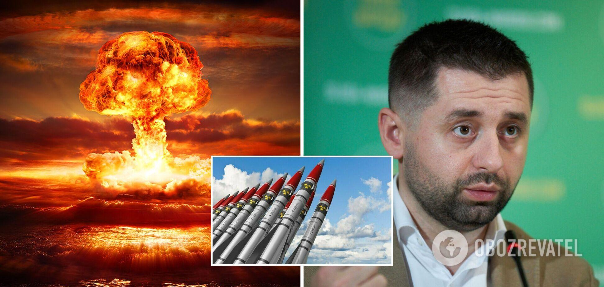 Арахамія хоче шантажувати світ. Чи може Україна повернути ядерну зброю і чим це обернеться?