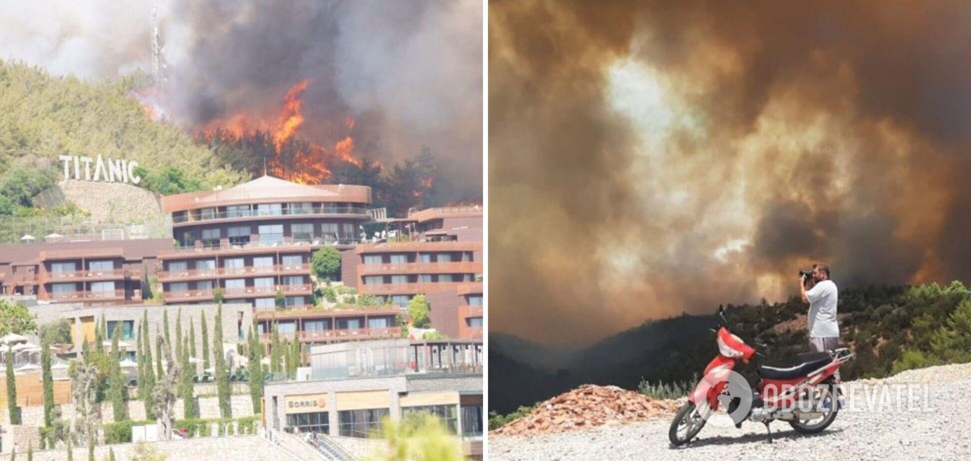 Турцию охватили масштабные пожары: смогут ли украинцы вернуть деньги и как изменятся цены на путевки