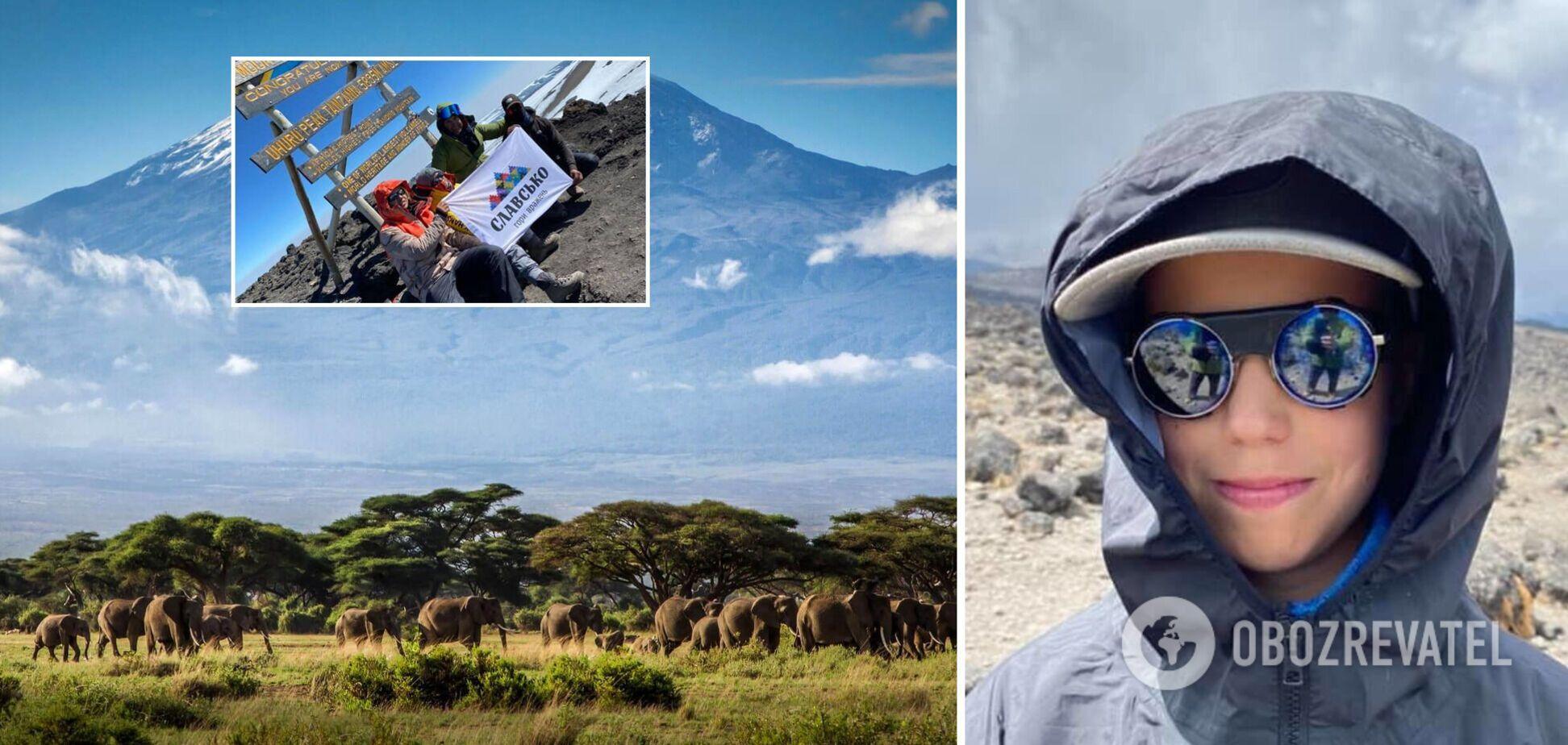 Подросток из Львовщины покорил Килиманджаро и побил рекорд. Фото и видео