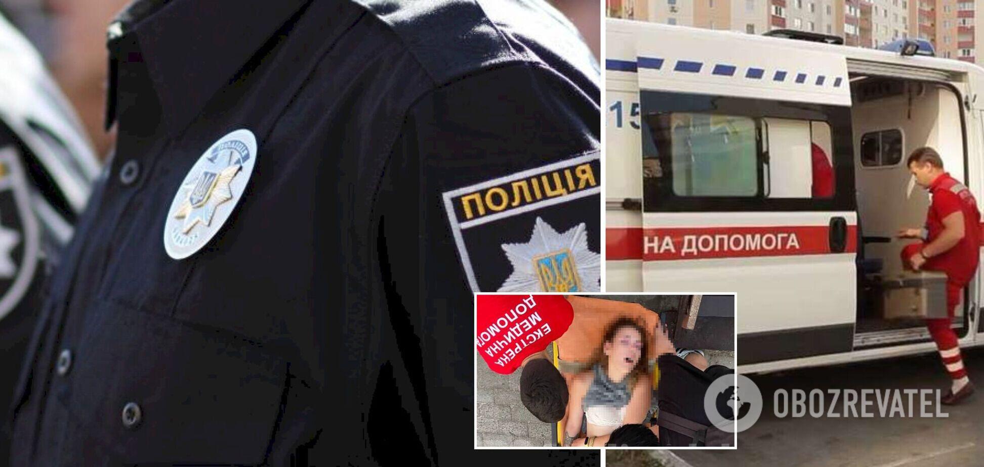 У курортному Бердянську на вулиці виявили напівроздягнену дівчину: вона потрапила в реанімацію. Фото