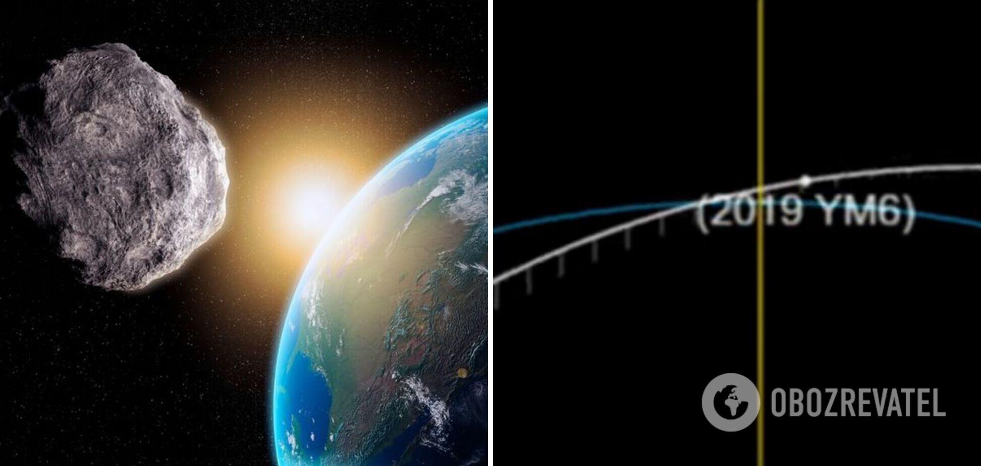 До Землі наближається астероїд розміром з хмарочос