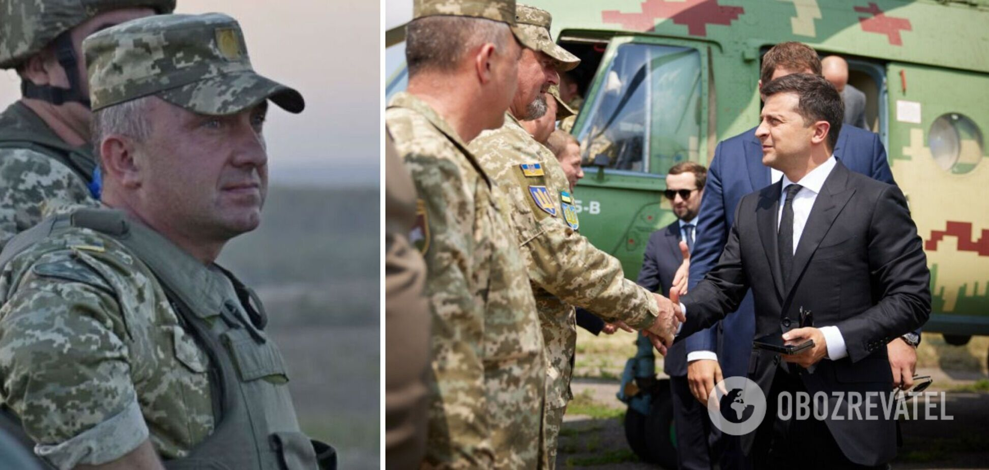 Зеленский представил командующего ООС Павлюка
