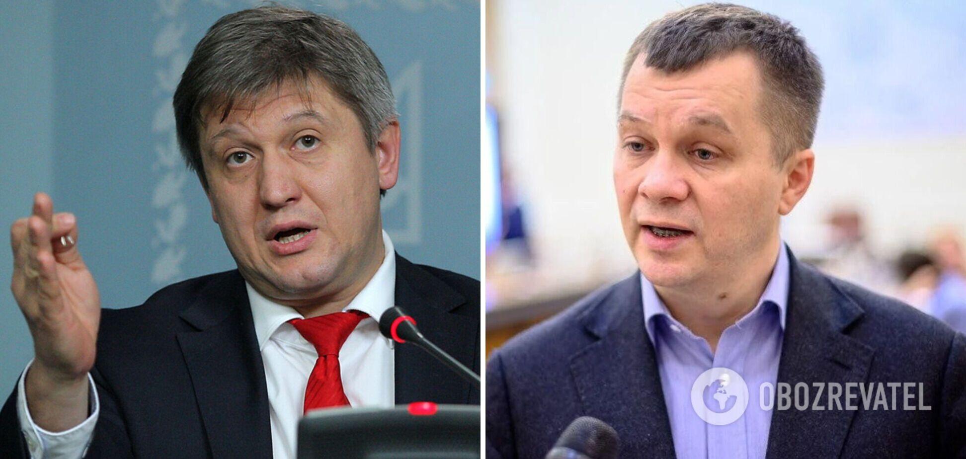 Милованов не визнав диплом Данилюка з того вишу, куди їдуть його студенти