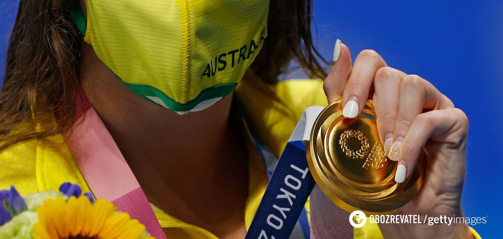 Золота медаль Олімпіади в Токіо