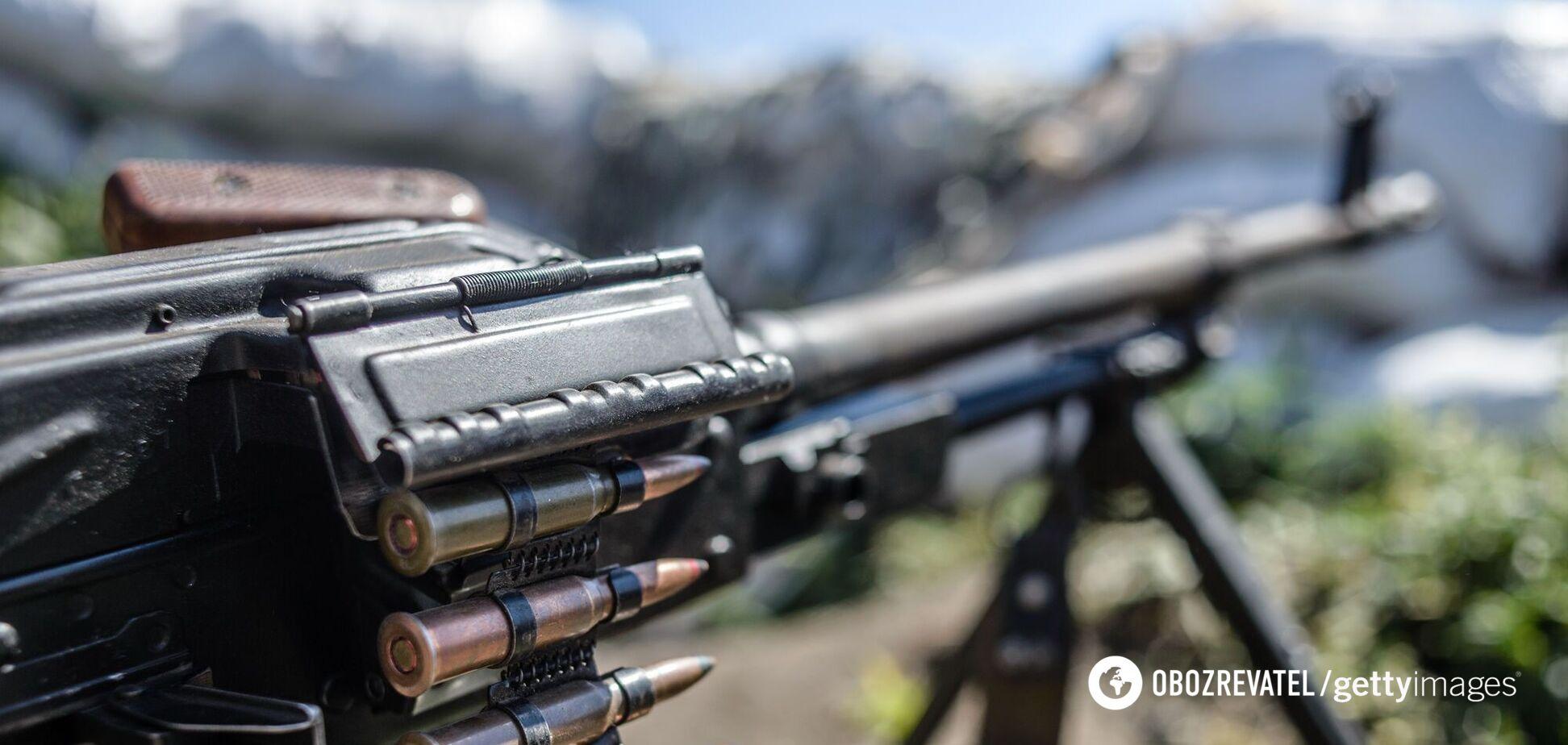 Окупанти обстріляли позиції ЗСУ на Донбасі, українські військові відкрили вогонь у відповідь – штаб ООС