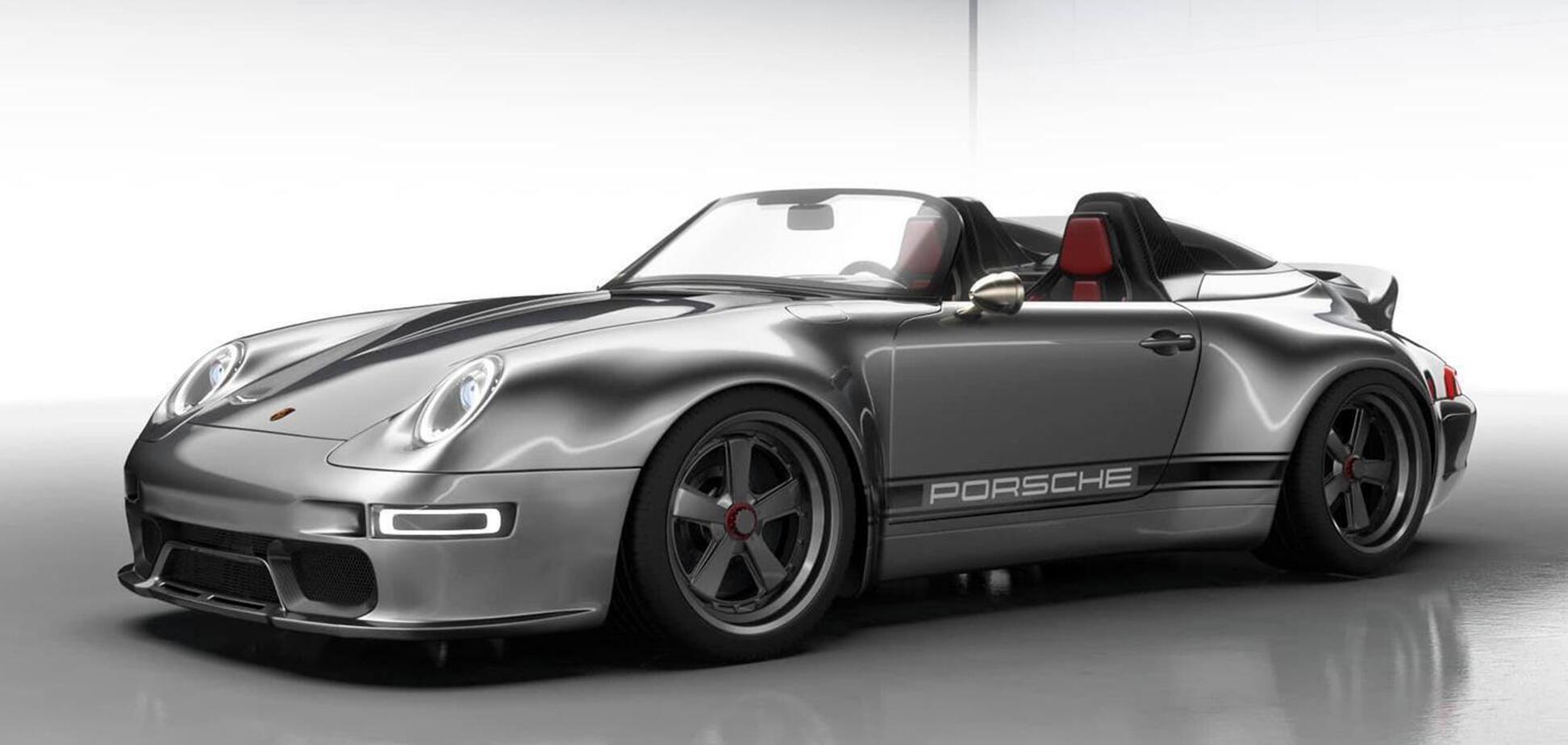 Gunther Werks показал тизеры суперкара Speedster Remastered