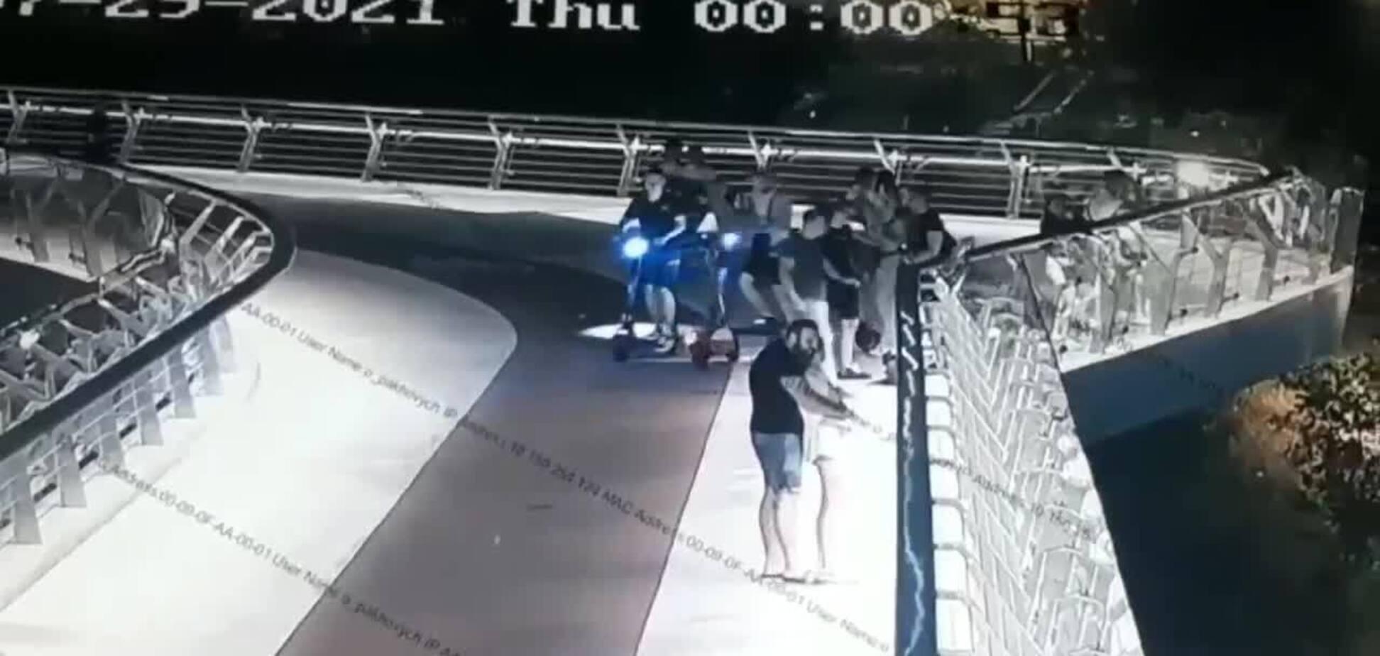 Кличко подякував правоохоронцям за упіймання вандала