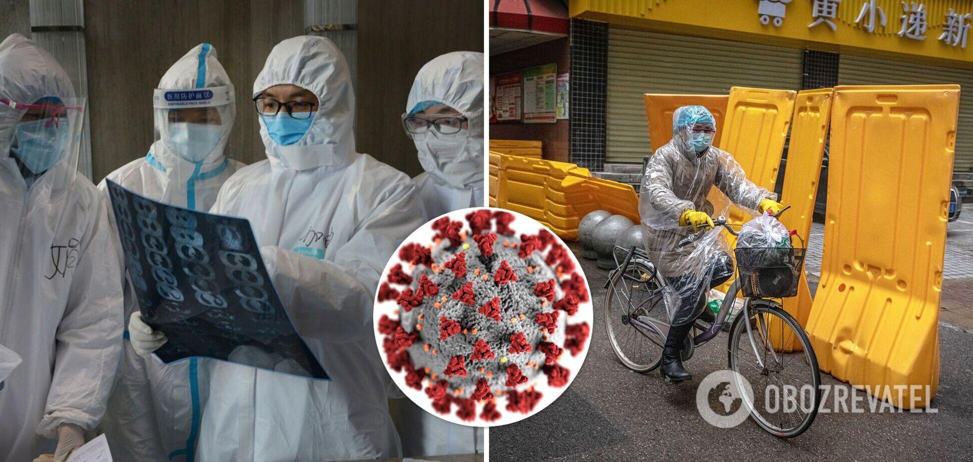 Пандемія COVID-19 в Китаї