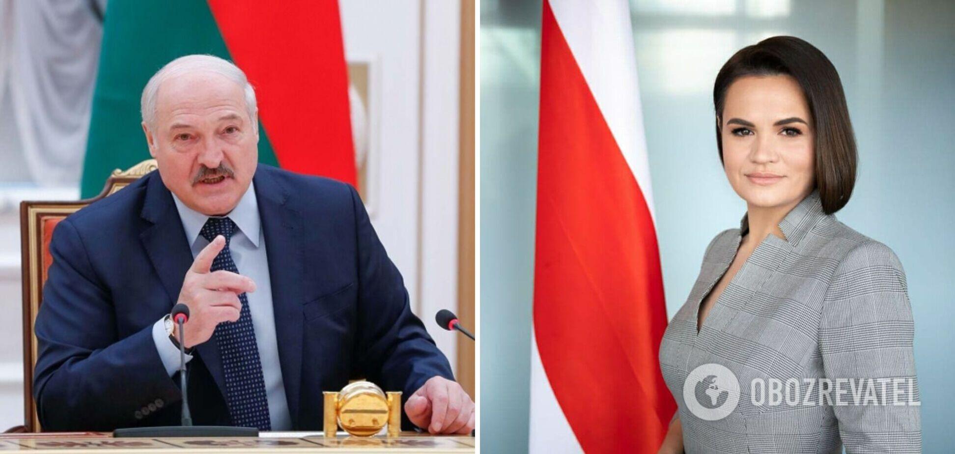 Лукашенко озвучив свою версію від'їзду Тихановської за кордон