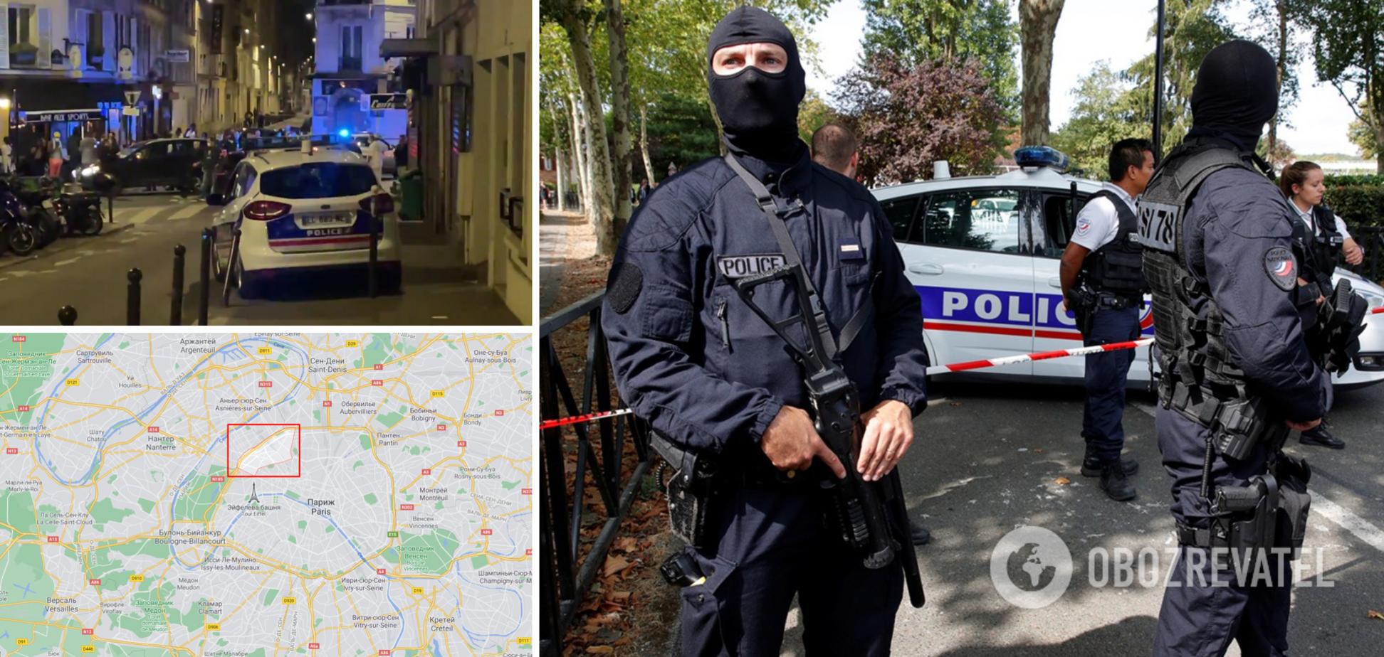 У Парижі автомобіль влетів в бар: є жертви, оголошено спецоперацію. Фото та відео