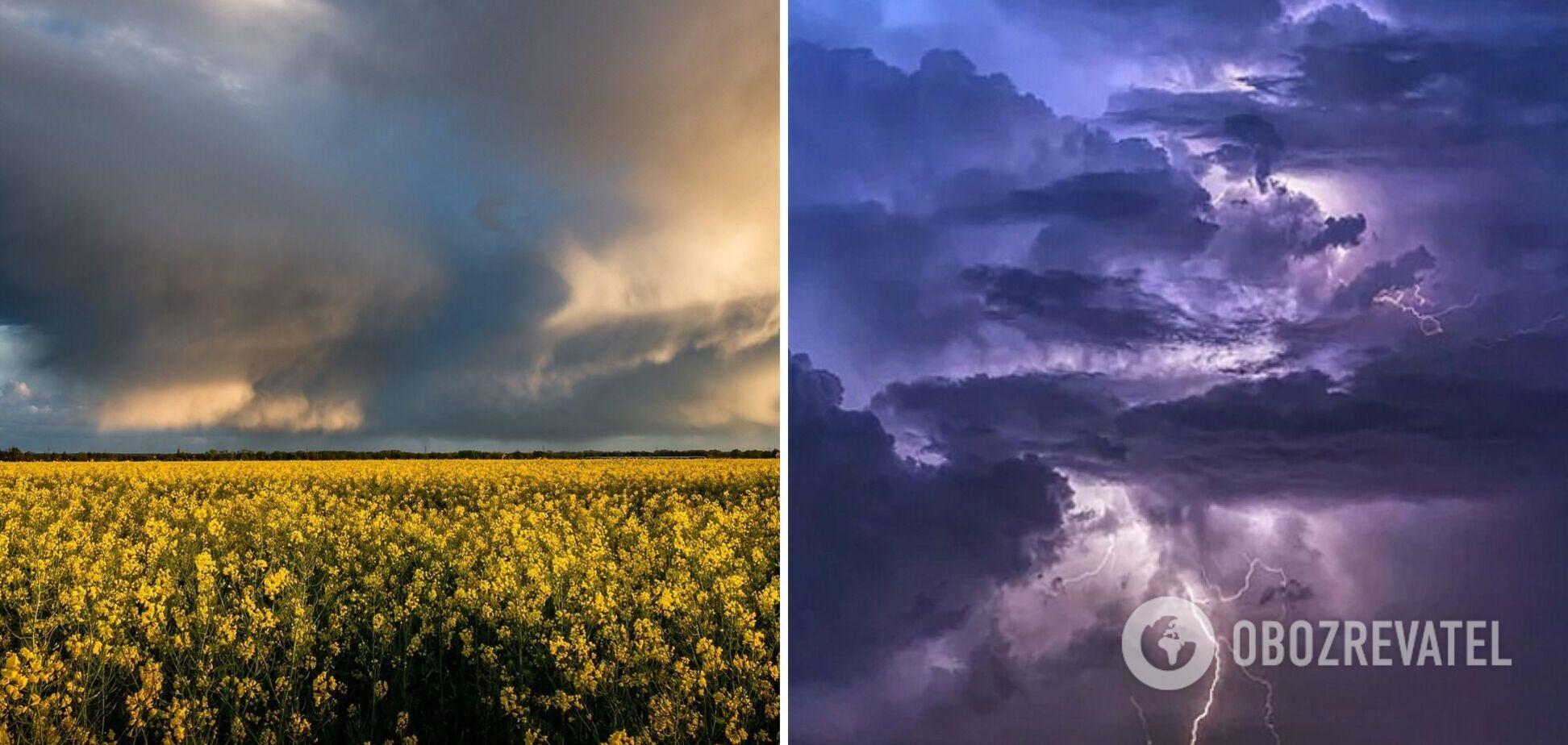 В части Украины объявлено штормовое предупреждение: где ожидается опасная погода. Карта