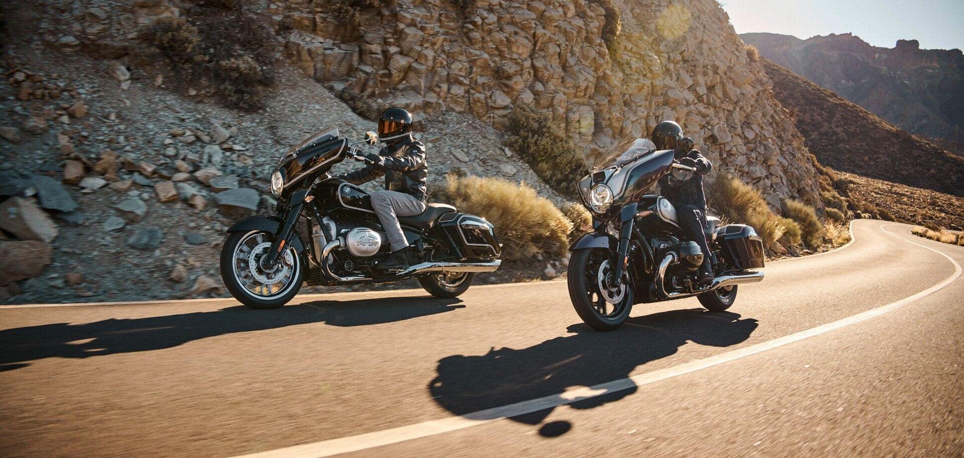 BMW Motorrad представил новых 'туристов' R 18 B и R 18 Transcontinental