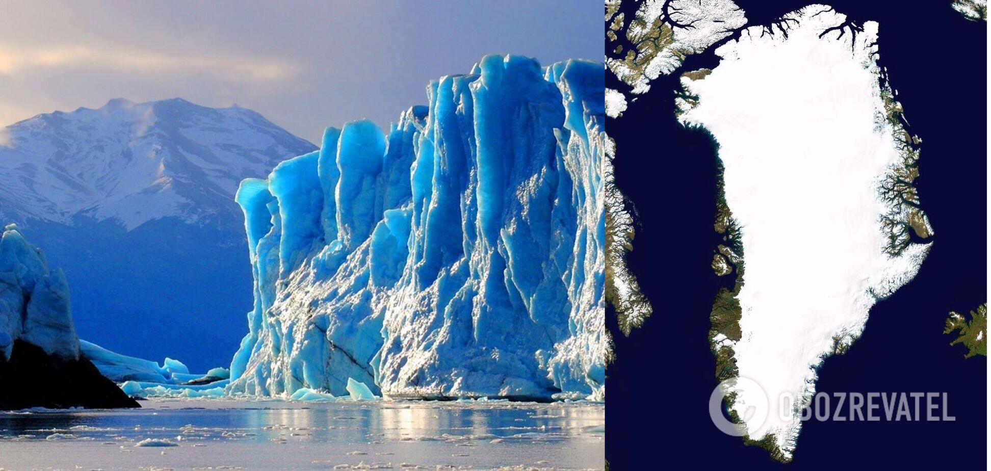 У Гренландії розтанула рекордна кількість льодовиків: у всьому світі піднявся рівень води