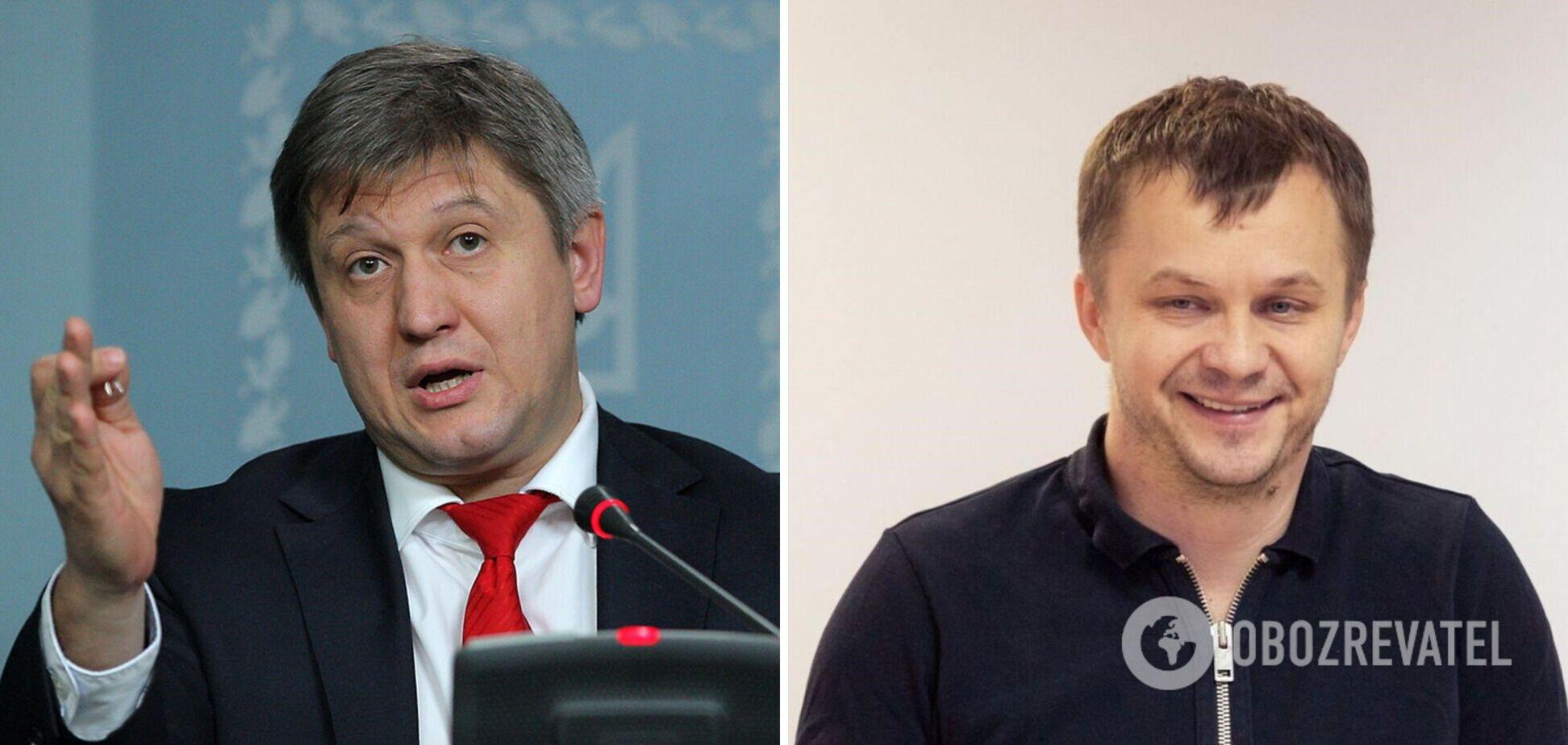 Данилюк вважає, що у Милованова був конфлікт інтересів